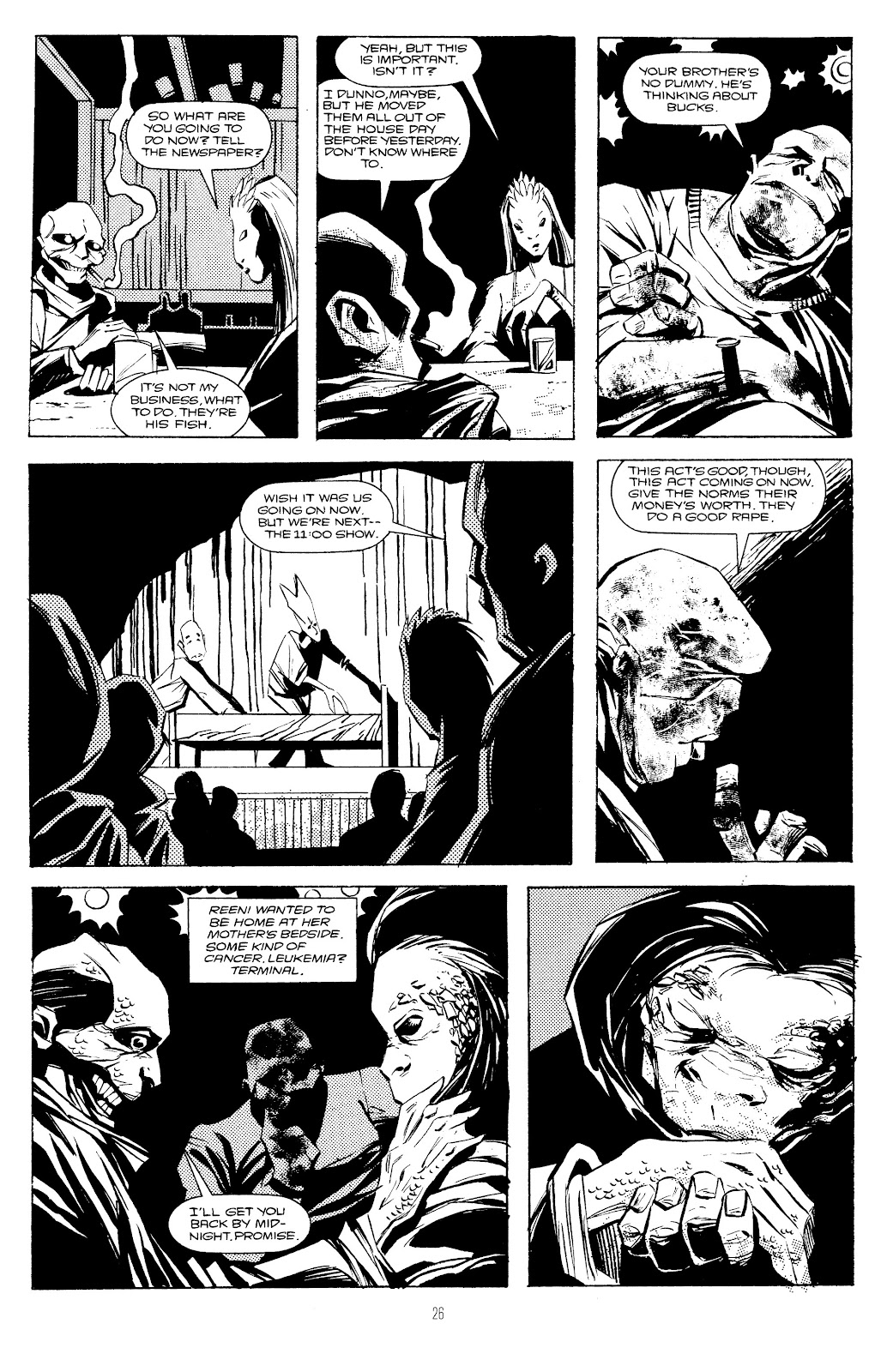 Read online Freaks' Amour comic -  Issue # TPB (Part 1) - 27