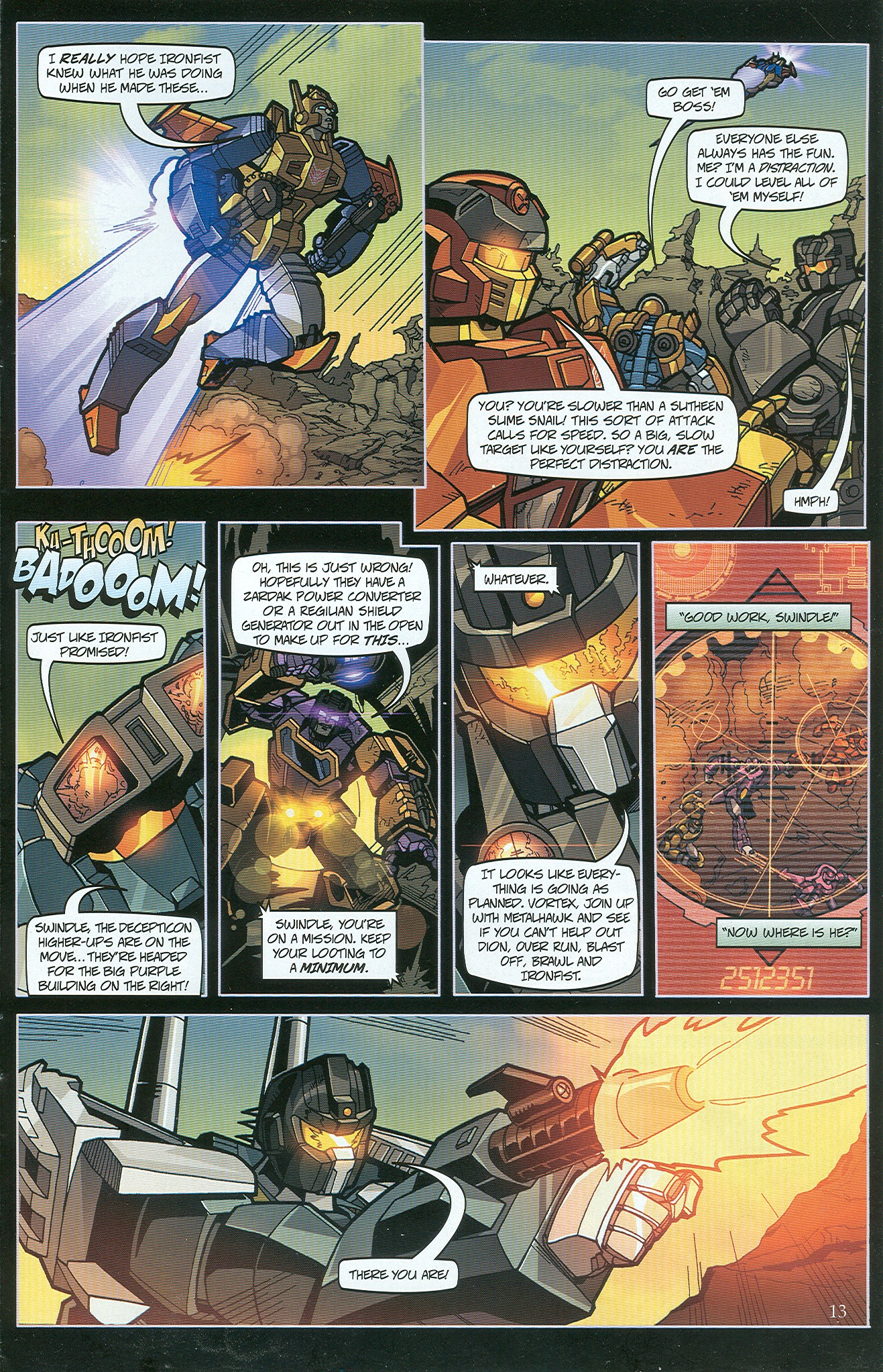 Read online Transformers: Collectors' Club comic -  Issue #33 - 13