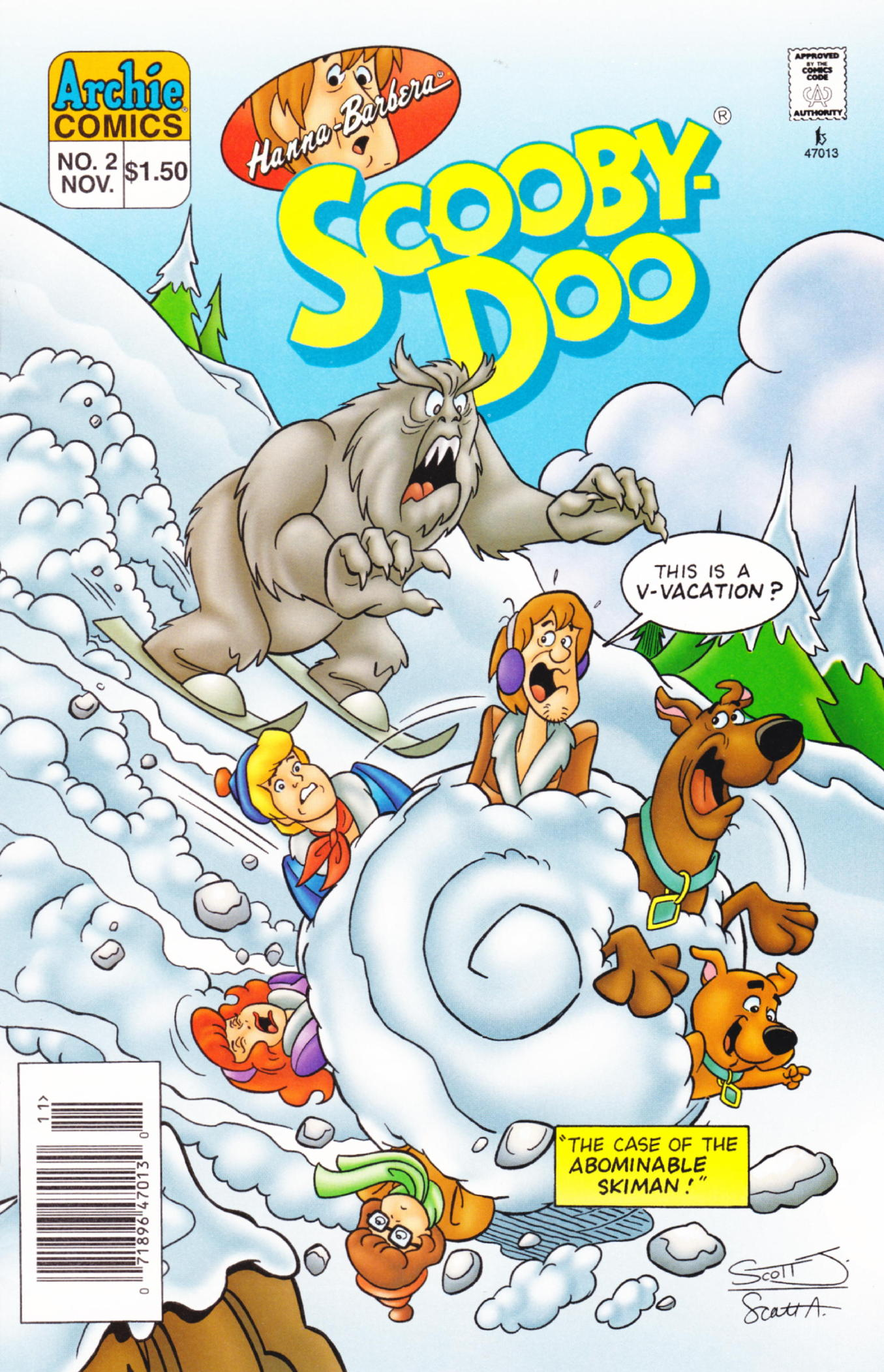 Read online Scooby-Doo (1995) comic -  Issue #2 - 1
