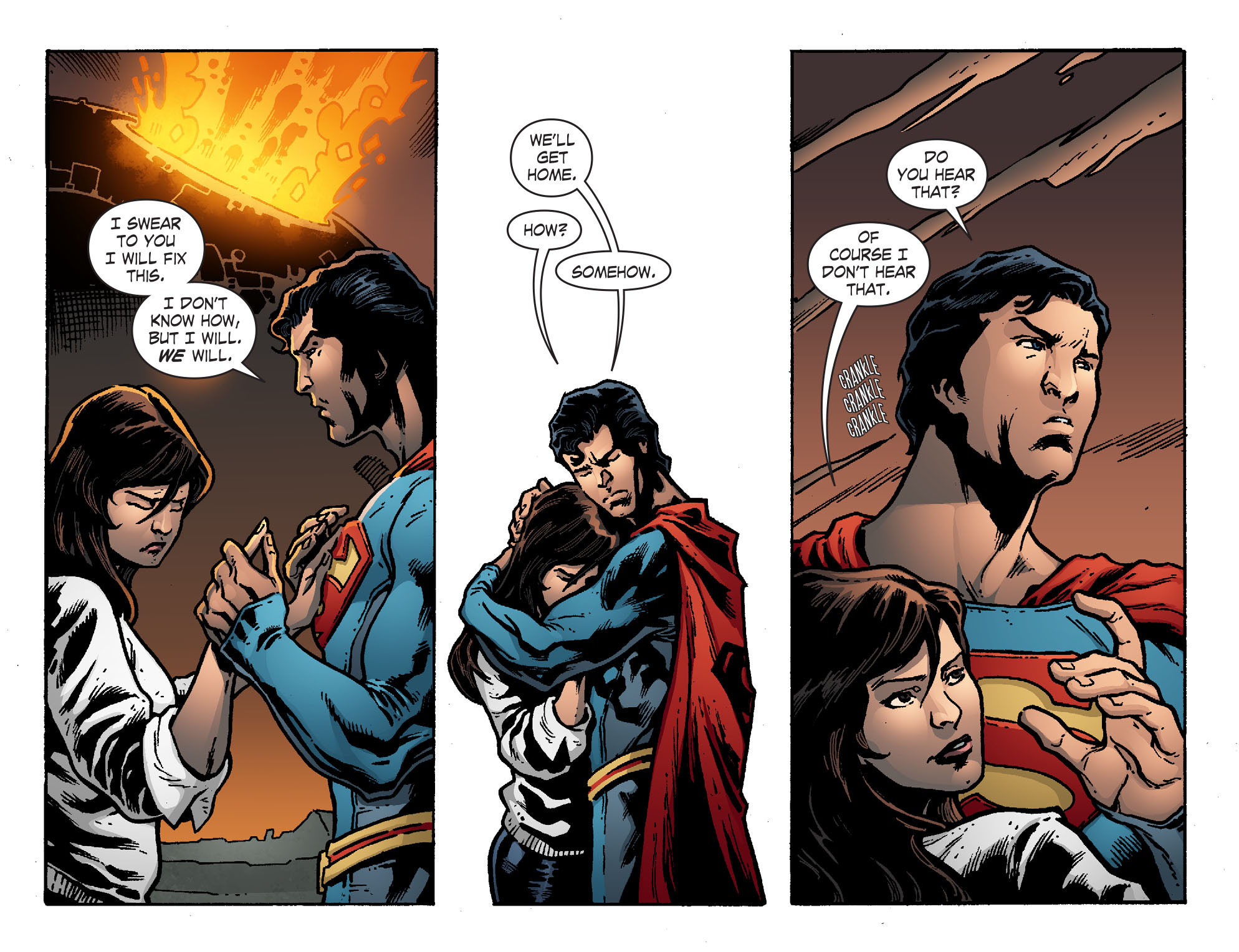 Read online Smallville: Chaos [II] comic -  Issue #7 - 9