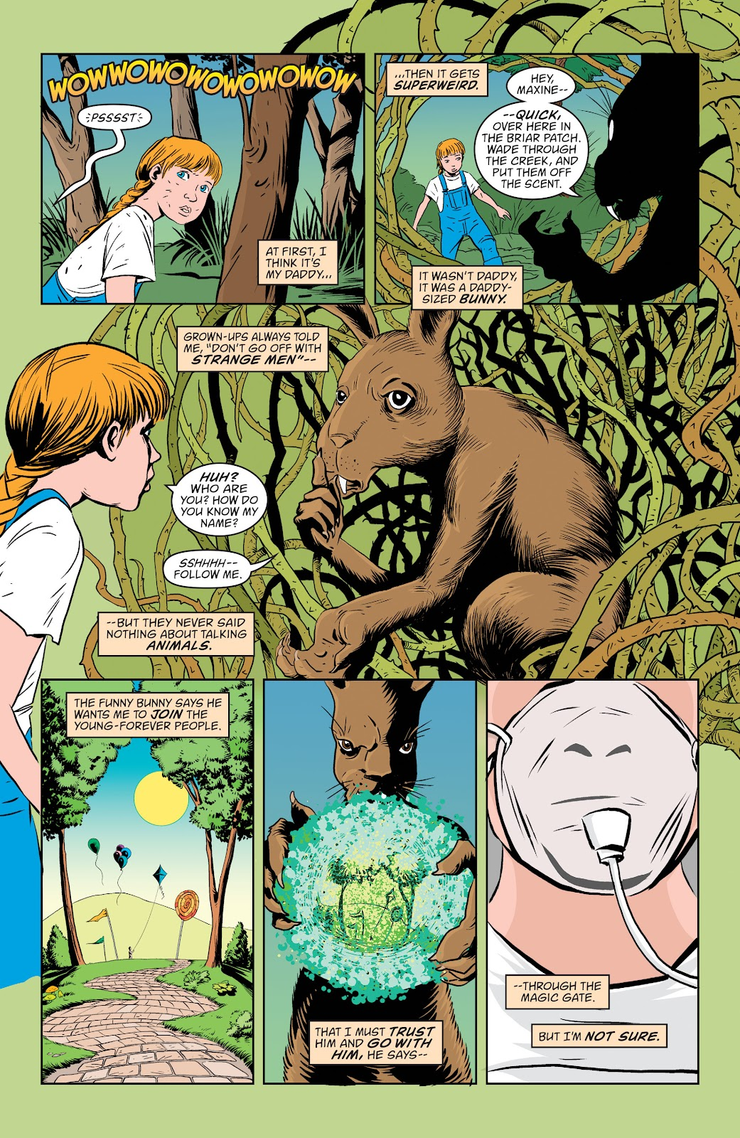 Read online The Children's Crusade comic -  Issue # _TPB (Part 1) - 94