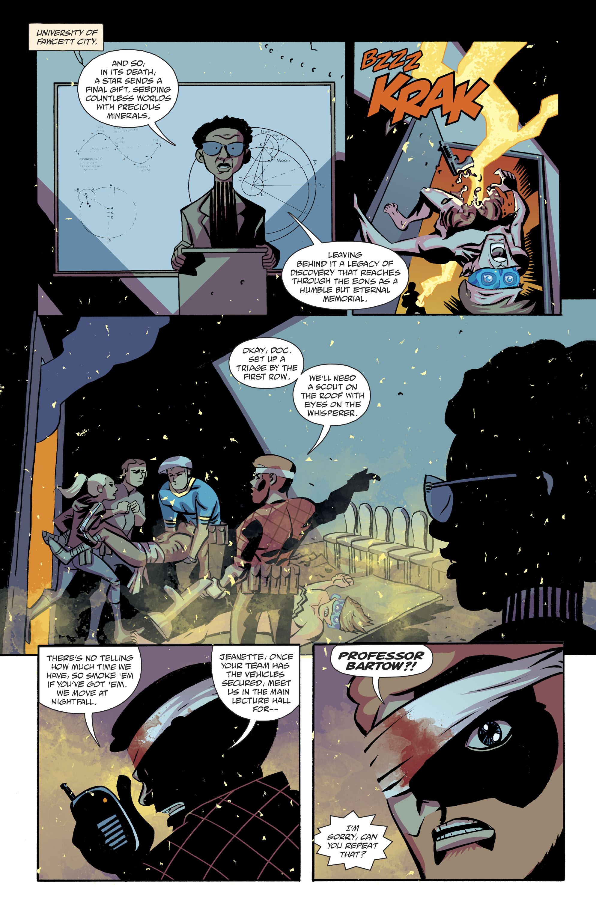 Read online Cave Carson Has a Cybernetic Eye comic -  Issue #8 - 12