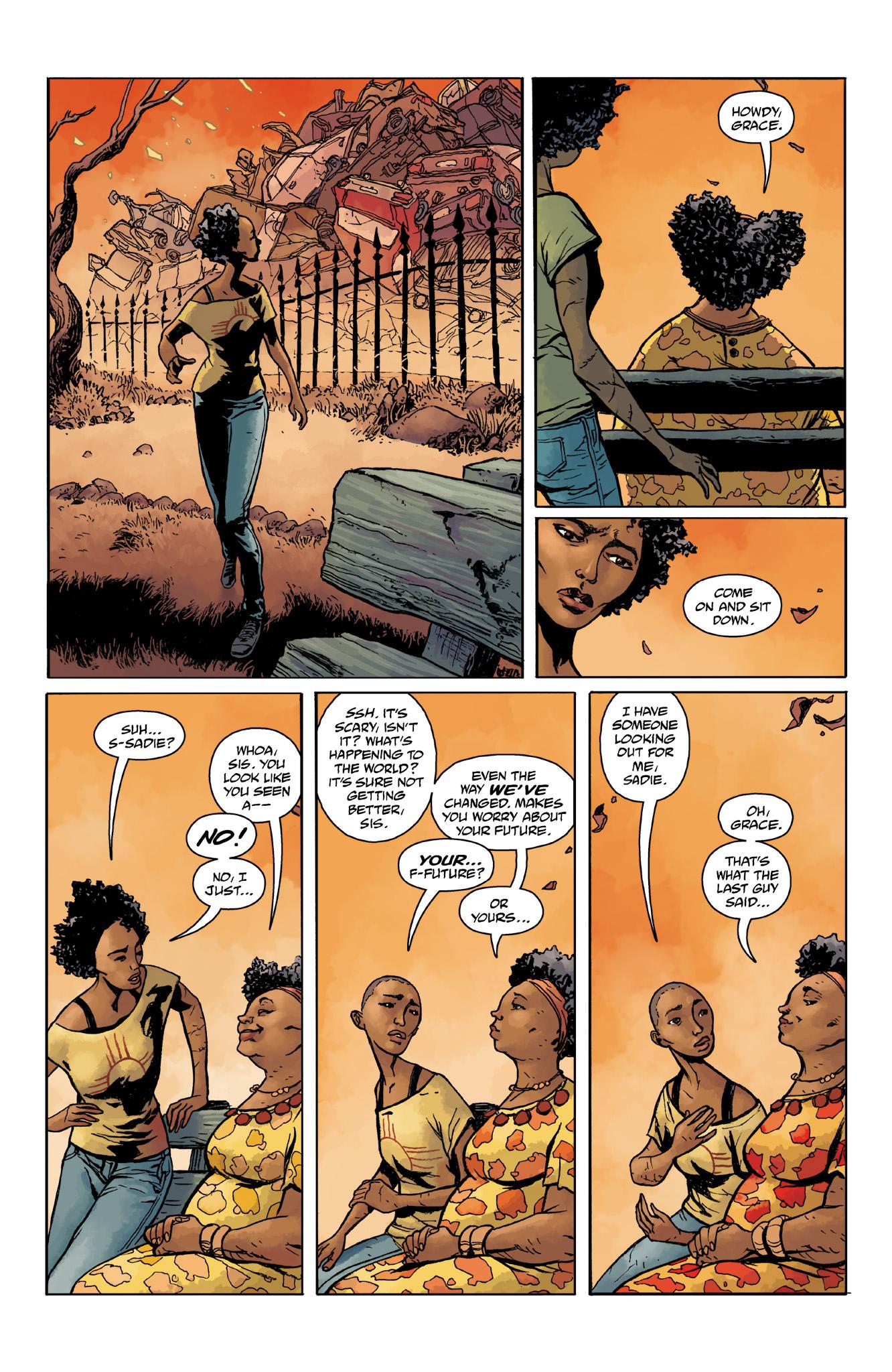 Read online Abe Sapien comic -  Issue #14 - 18