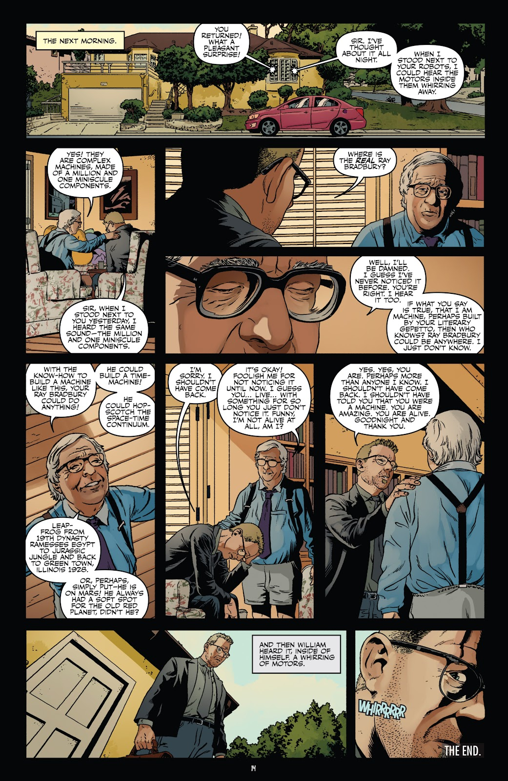 Read online Shadow Show: Stories in Celebration of Ray Bradbury comic -  Issue #3 - 16