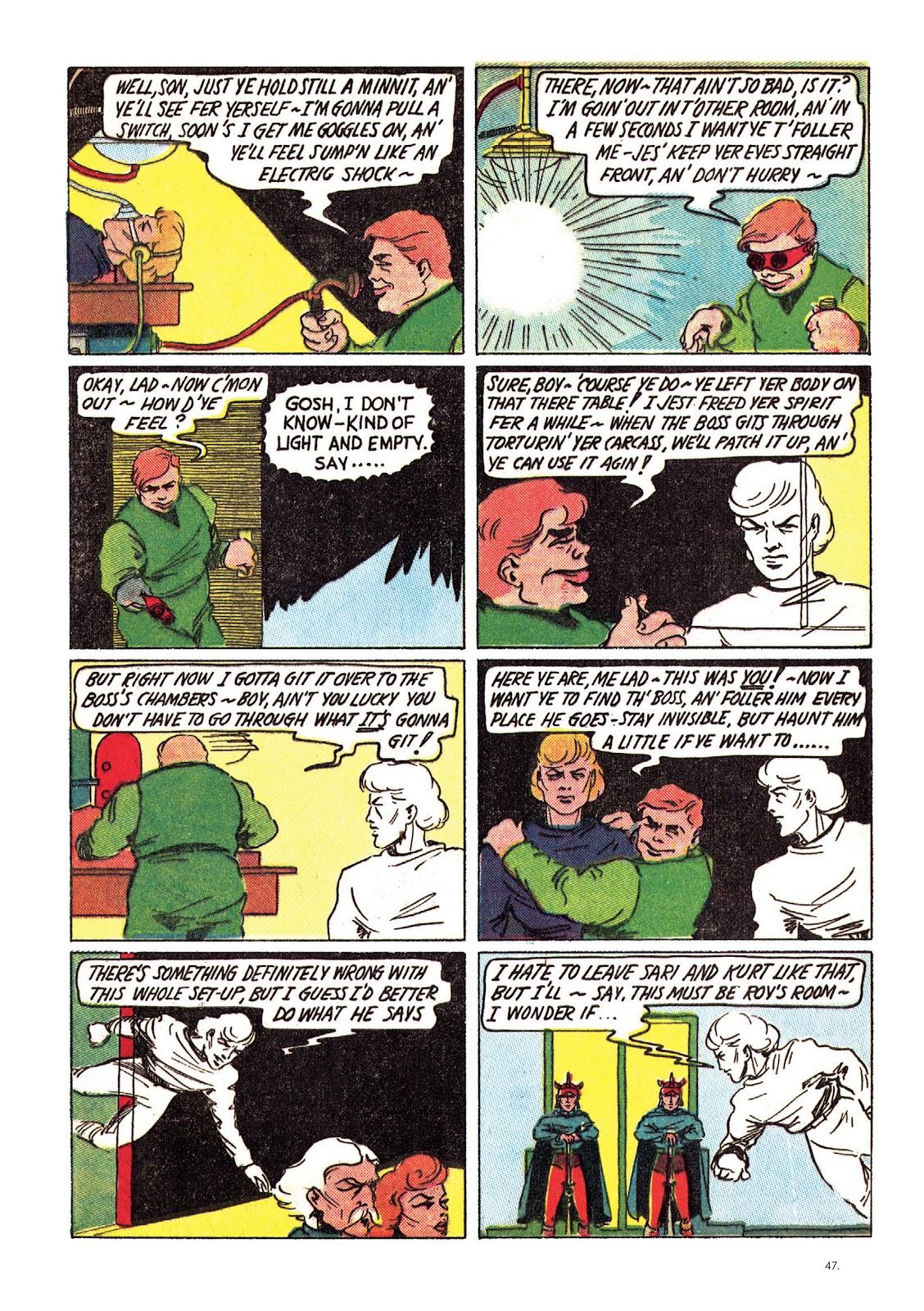 Read online The Bill Everett Archives comic -  Issue # TPB 1 (Part 1) - 48