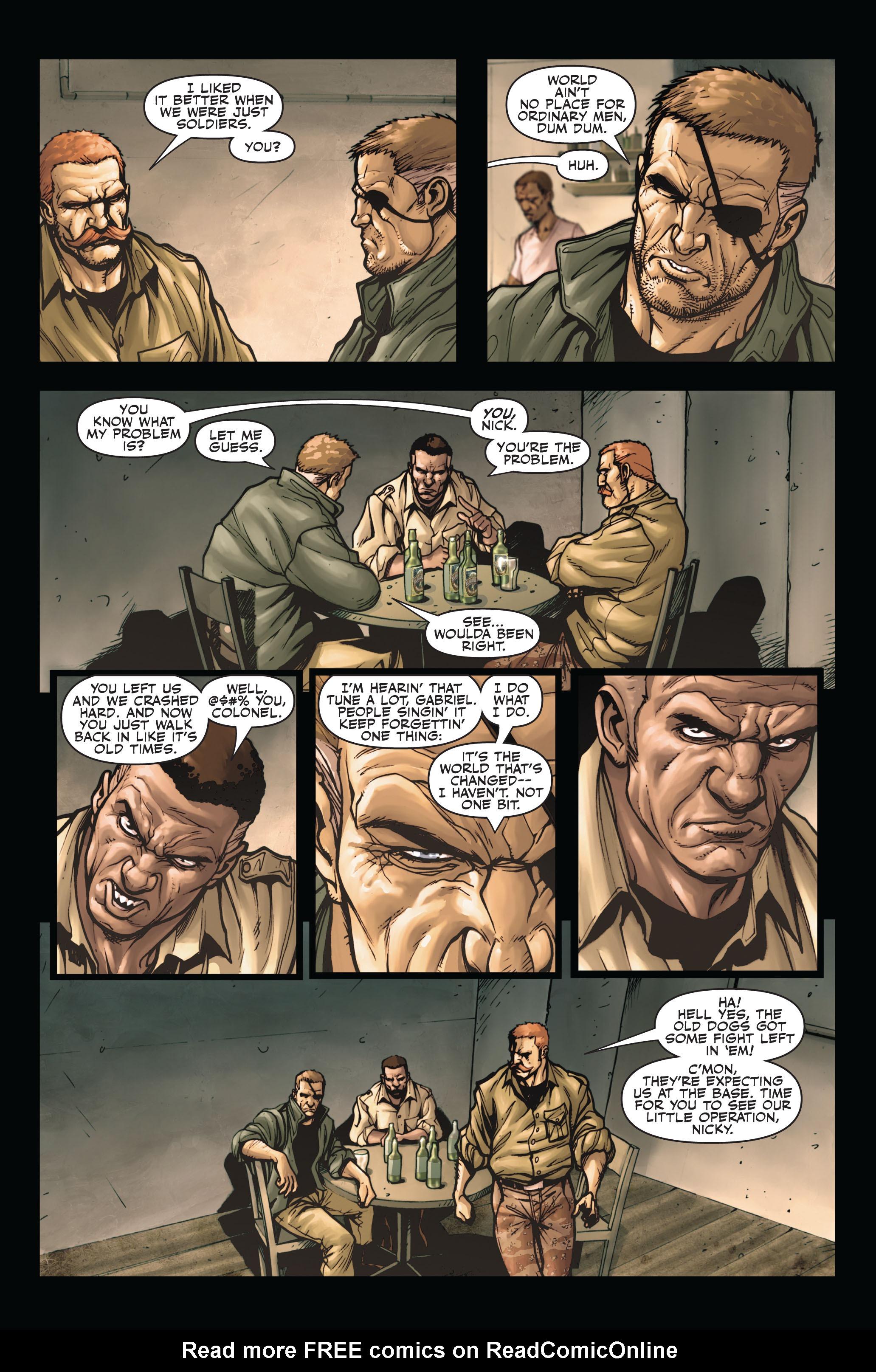 Read online Secret Warriors comic -  Issue #4 - 16