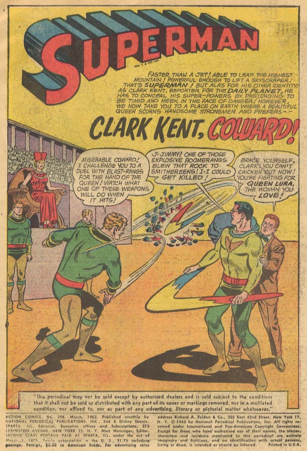 Read online Action Comics (1938) comic -  Issue #298 - 3
