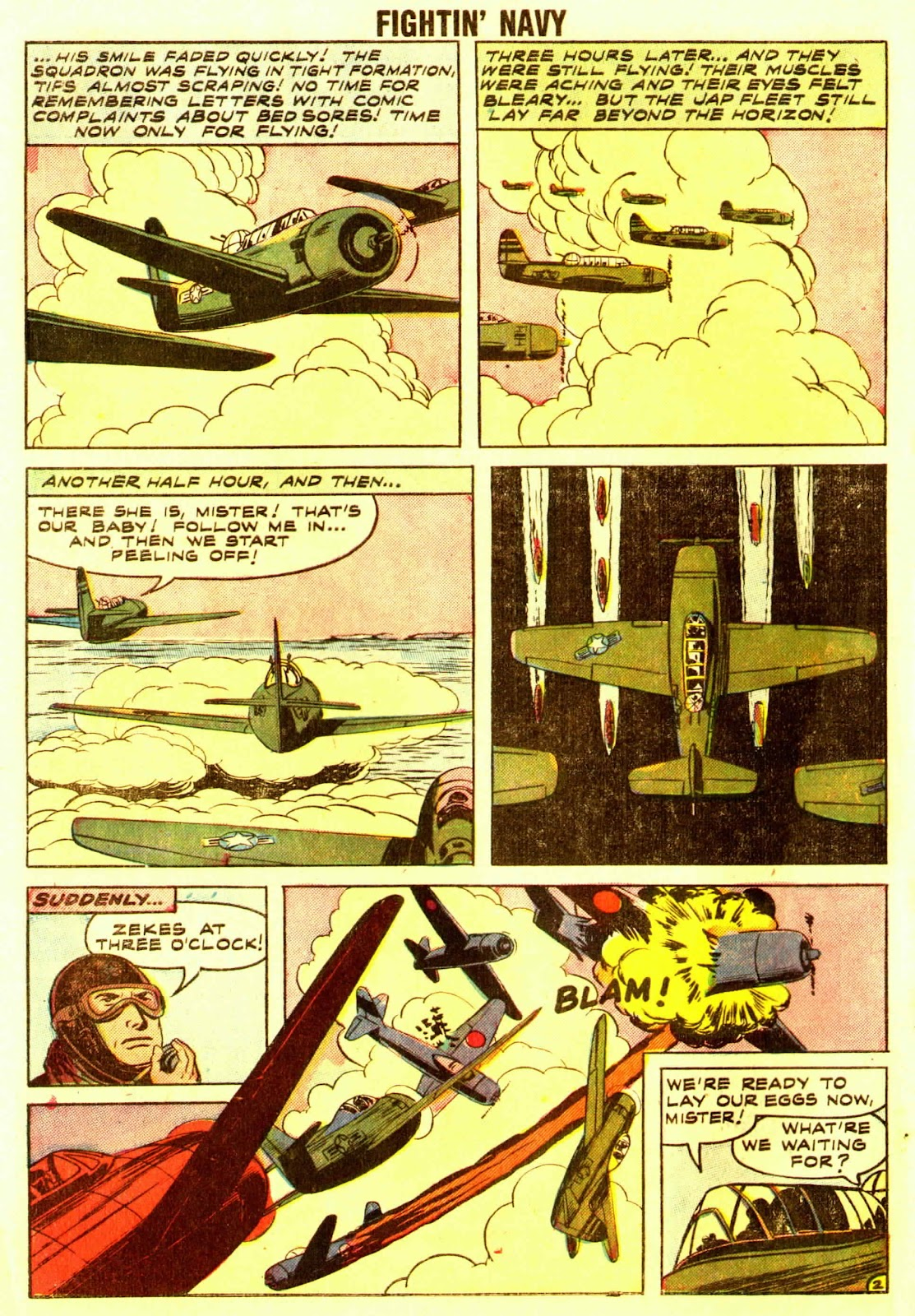 Read online Fightin' Navy comic -  Issue #83 - 94