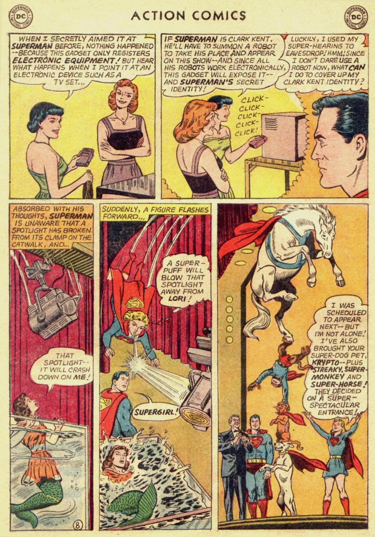 Read online Action Comics (1938) comic -  Issue #309 - 10