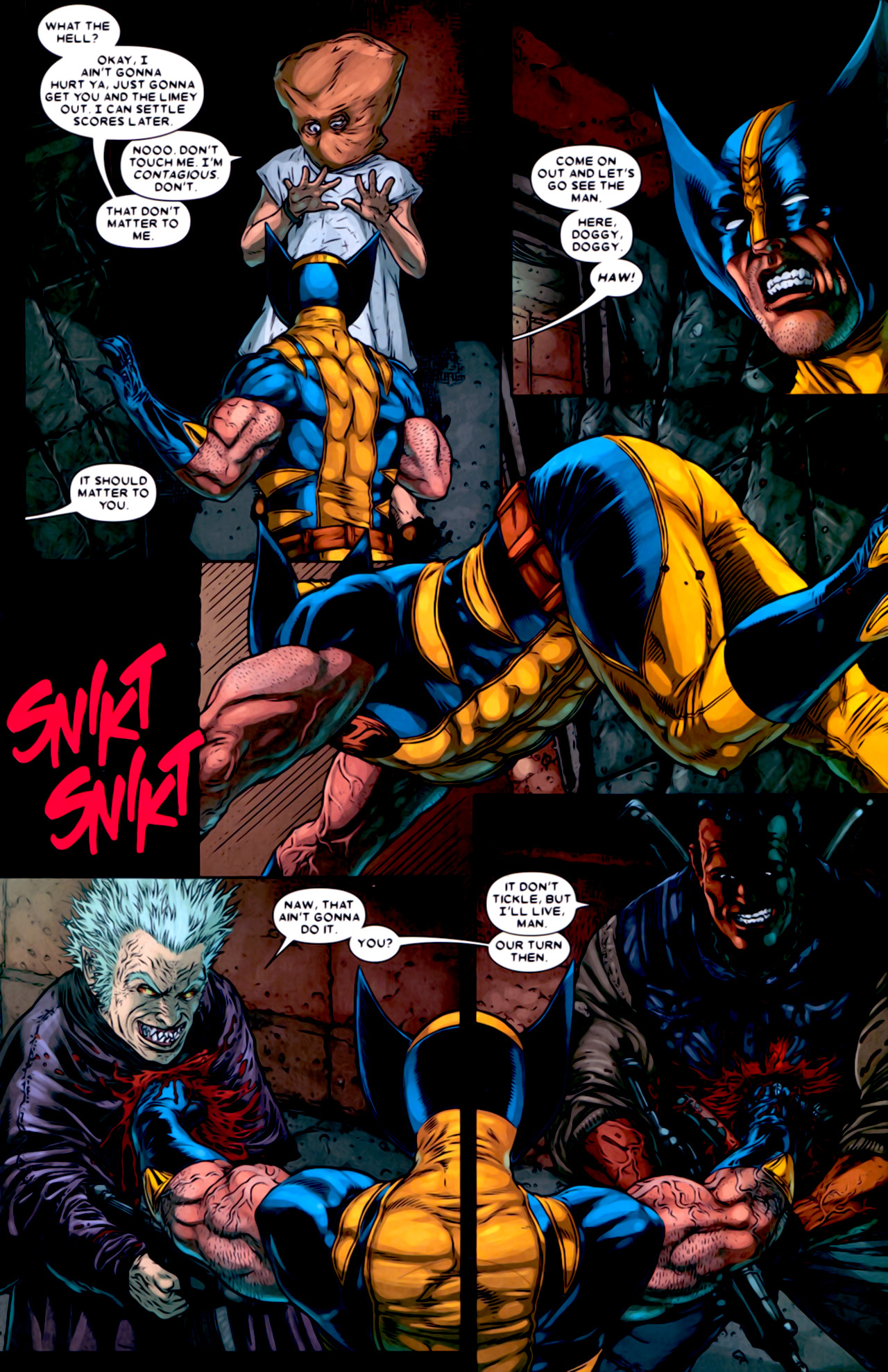 Read online Wolverine: The Best There Is comic -  Issue #2 - 22