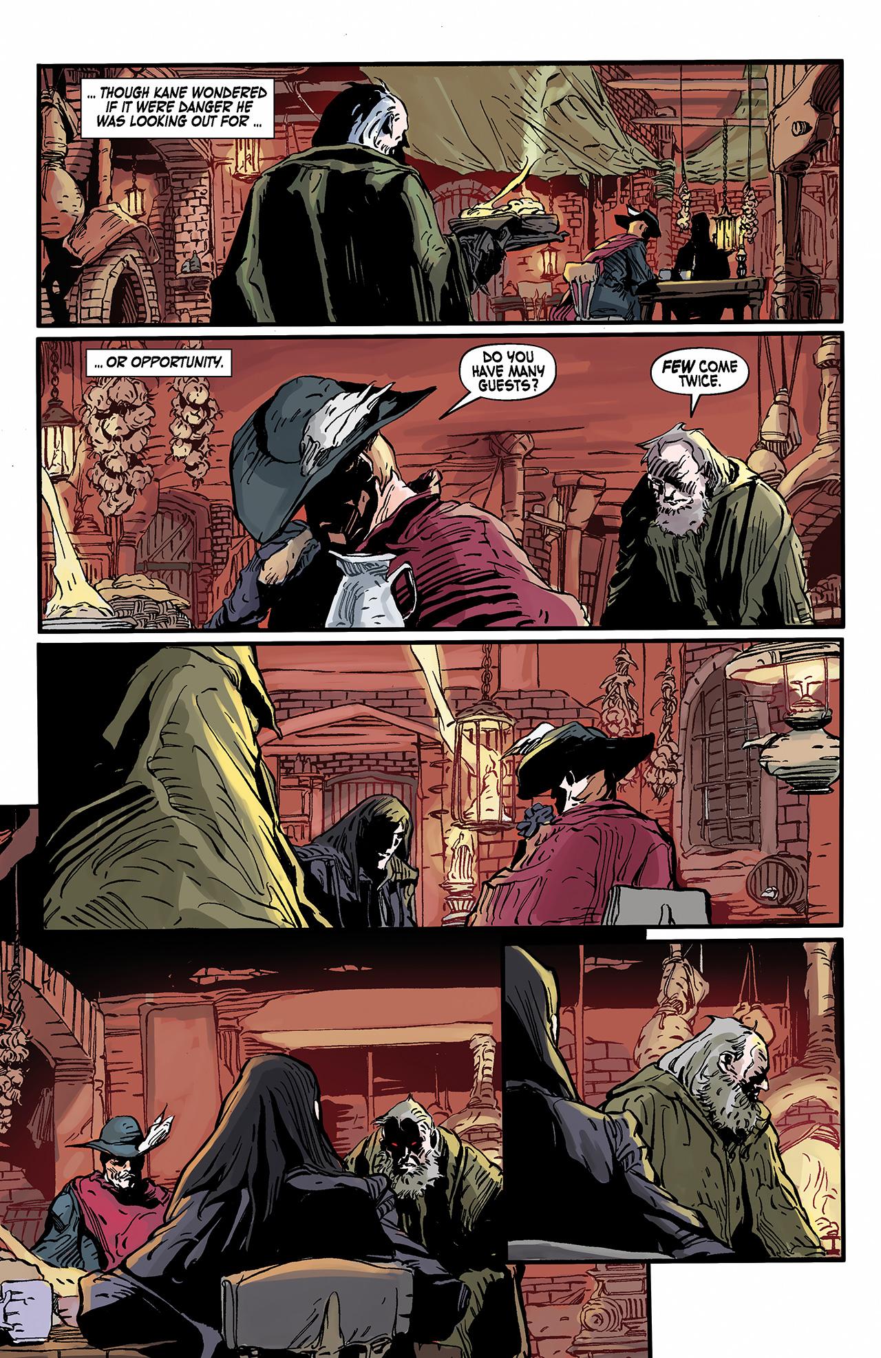 Read online Solomon Kane: Death's Black Riders comic -  Issue #2 - 8