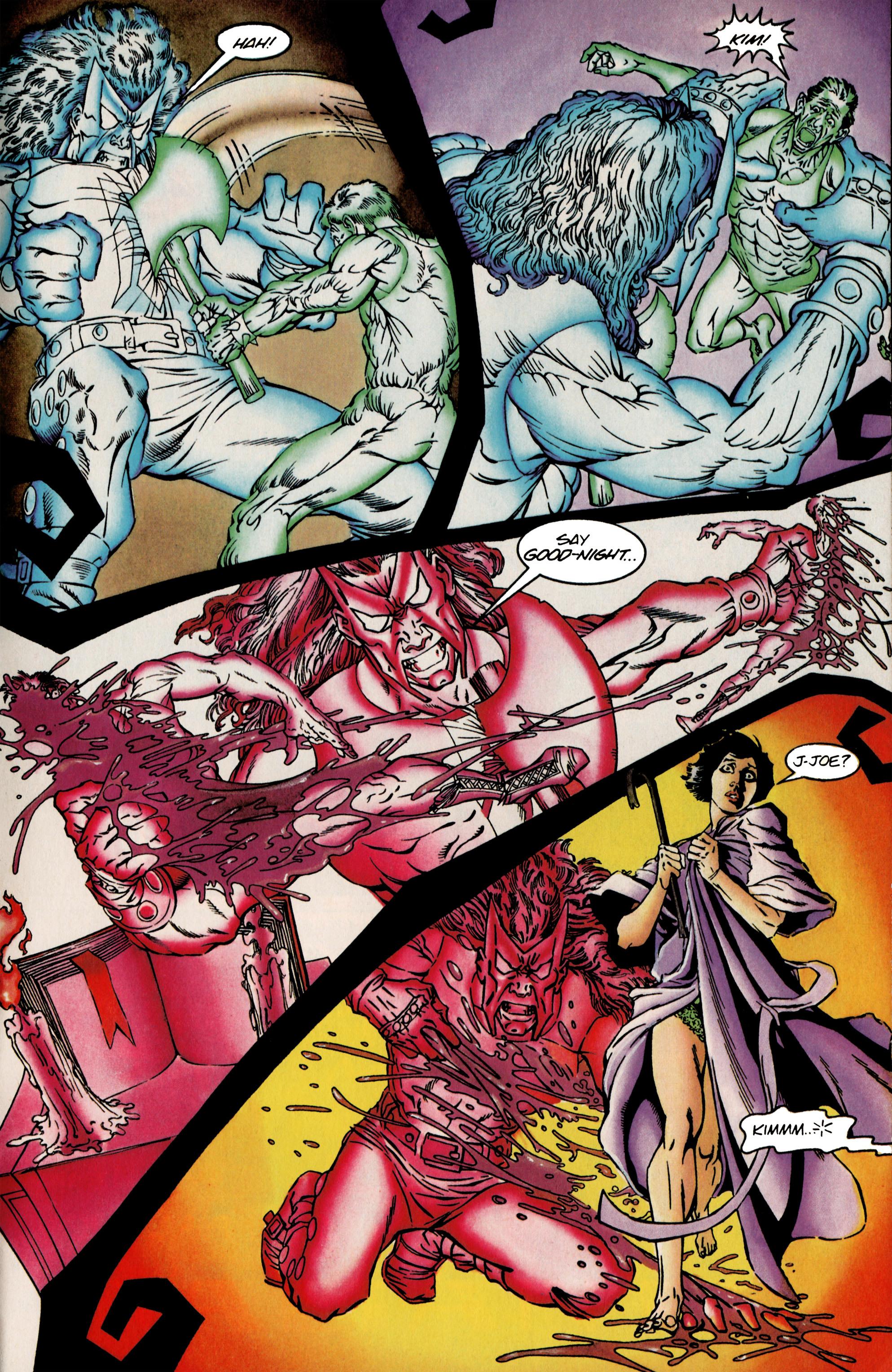 Read online Shadowman (1992) comic -  Issue #25 - 21