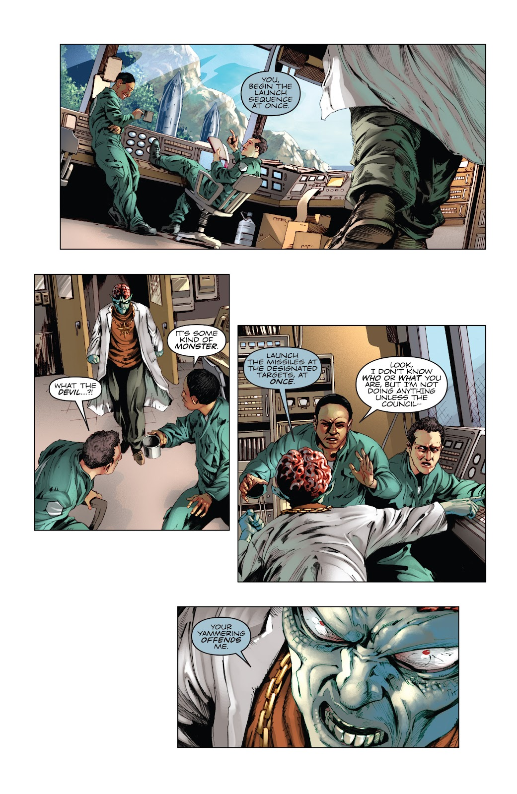 Read online Codename: Action comic -  Issue #5 - 7