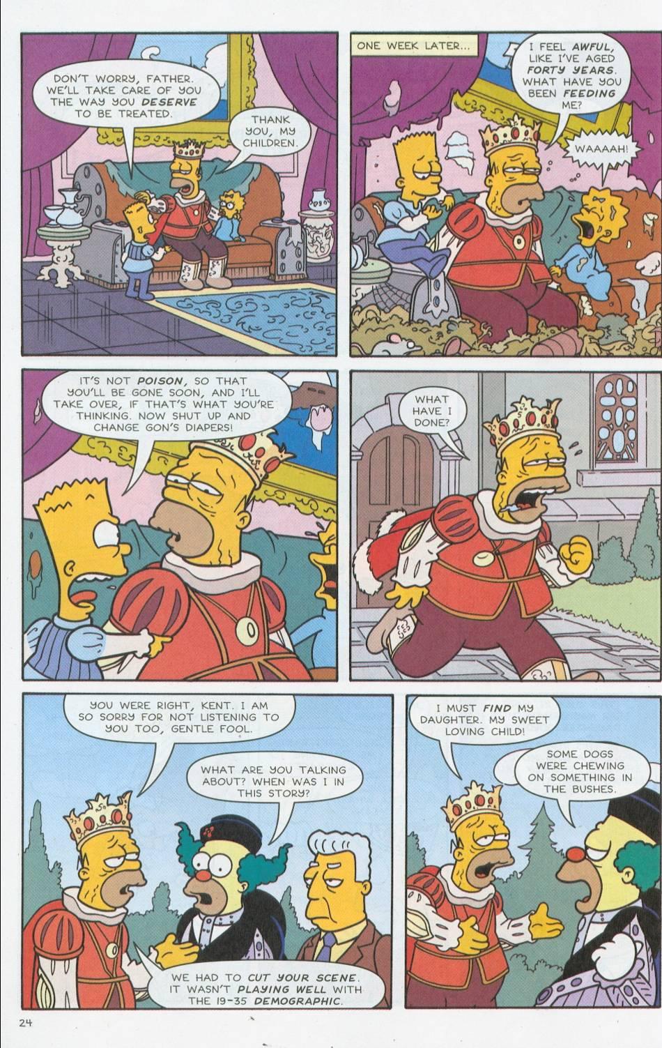 Read online Simpsons Comics comic -  Issue #76 - 25