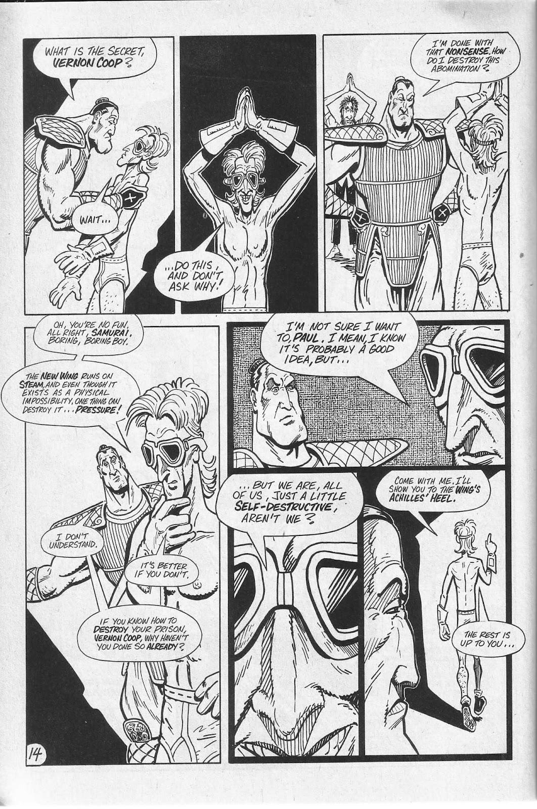 Read online Paul the Samurai (1991) comic -  Issue # TPB - 50