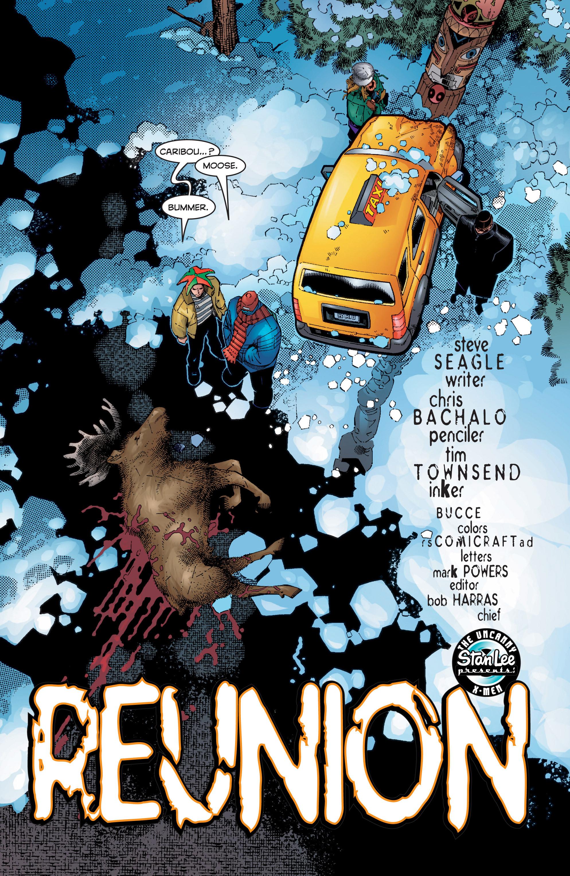 Read online Uncanny X-Men (1963) comic -  Issue #356 - 4