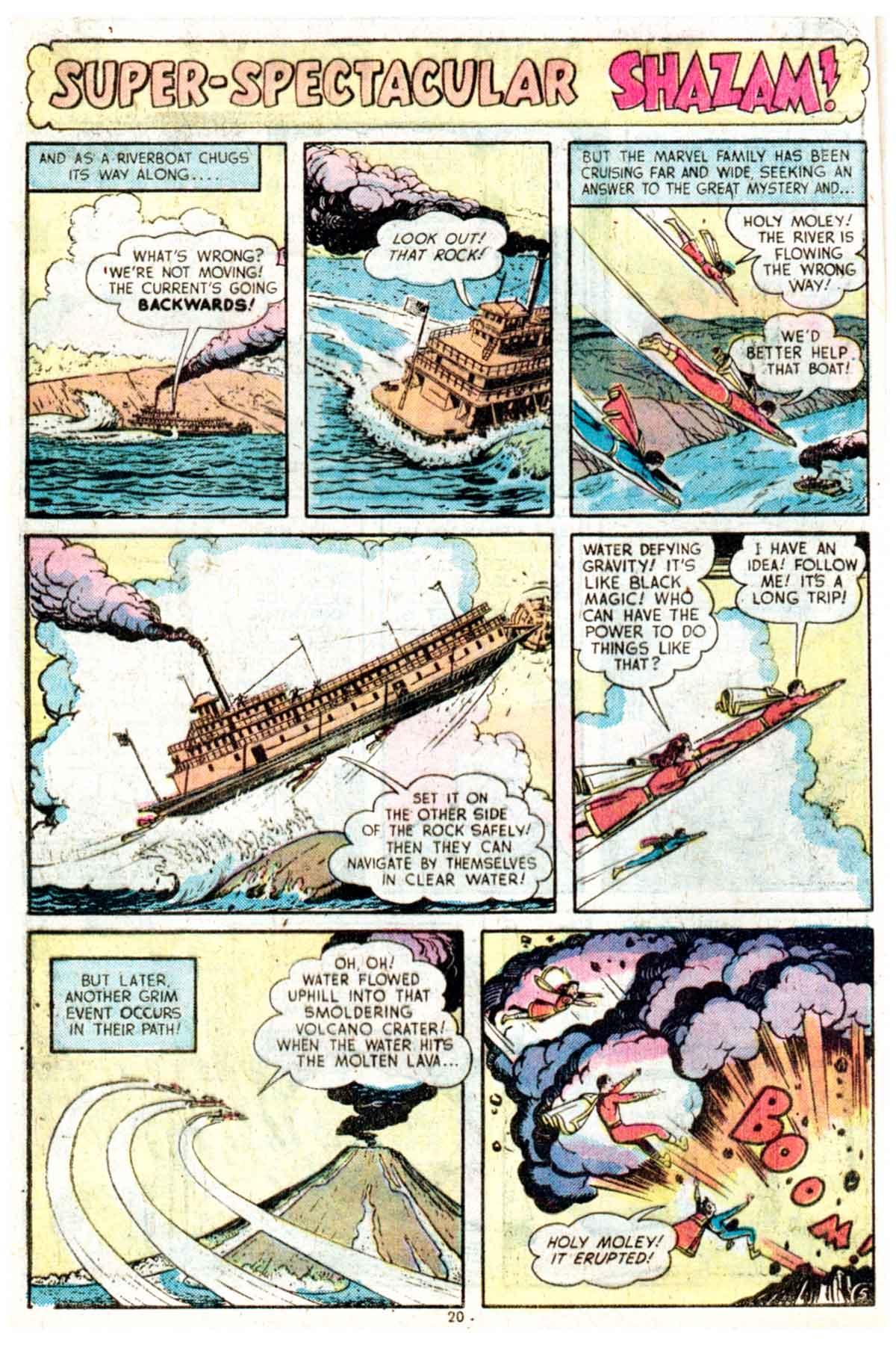 Read online Shazam! (1973) comic -  Issue #16 - 20
