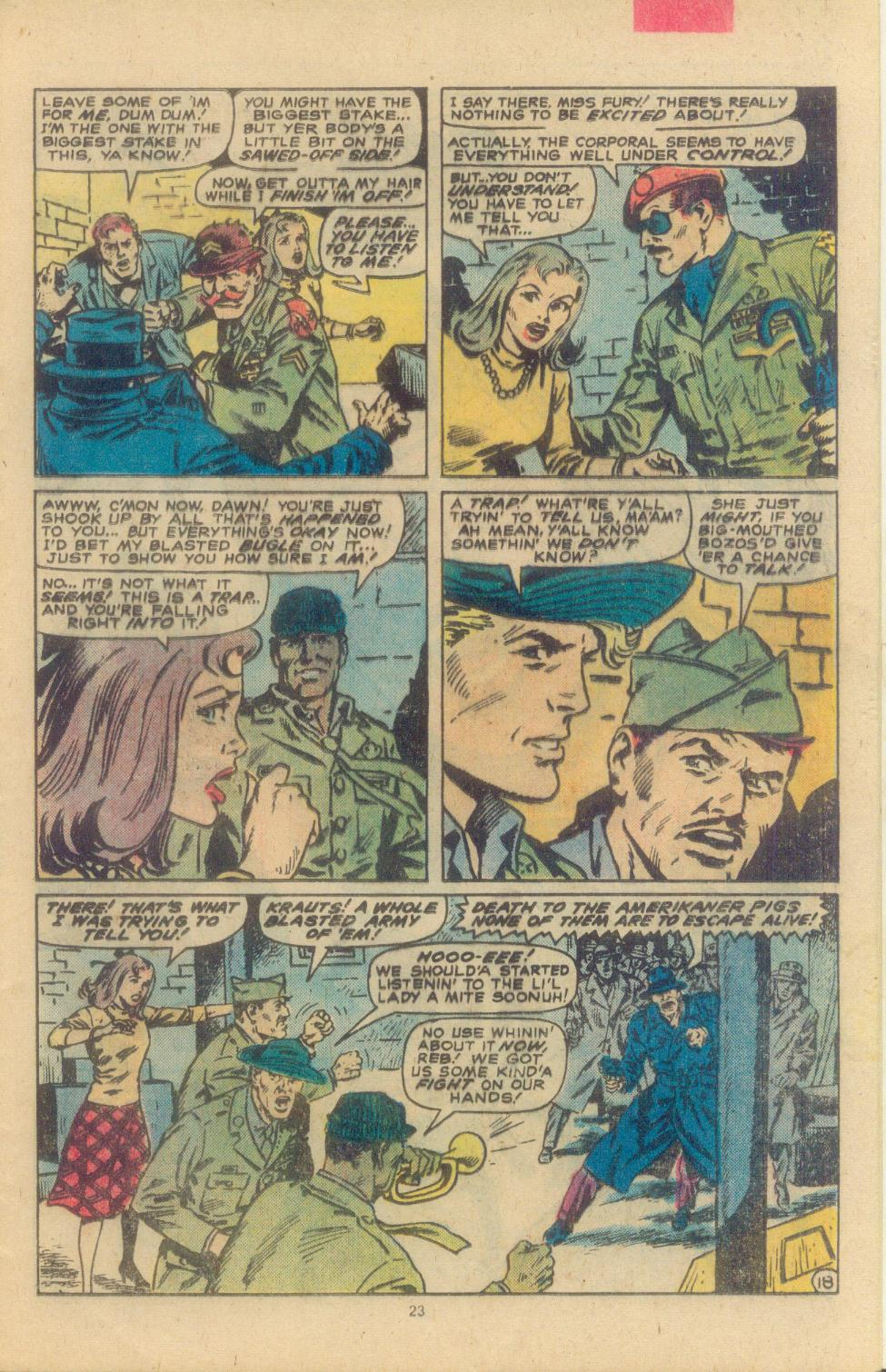 Read online Sgt. Fury comic -  Issue #163 - 25