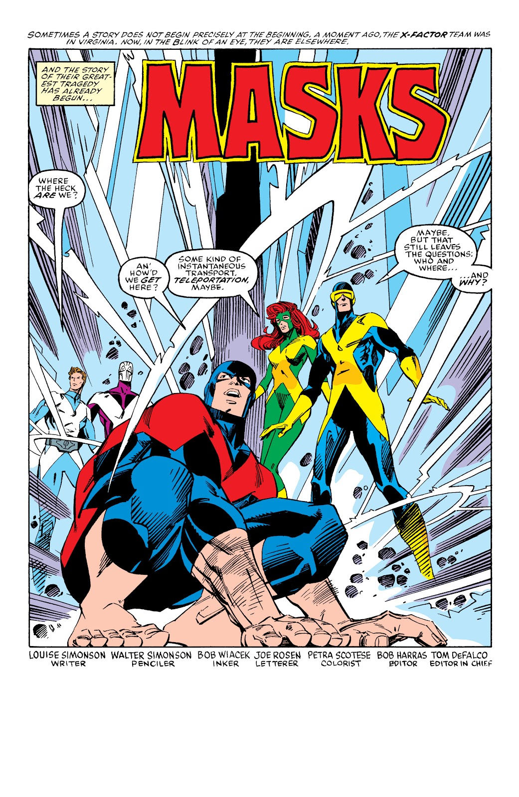 Read online X-Men Milestones: Fall of the Mutants comic -  Issue # TPB (Part 2) - 81