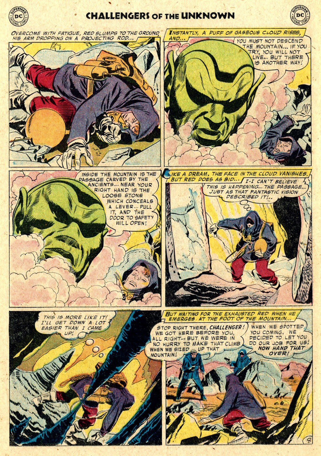 Challengers of the Unknown (1958) issue 3 - Page 12