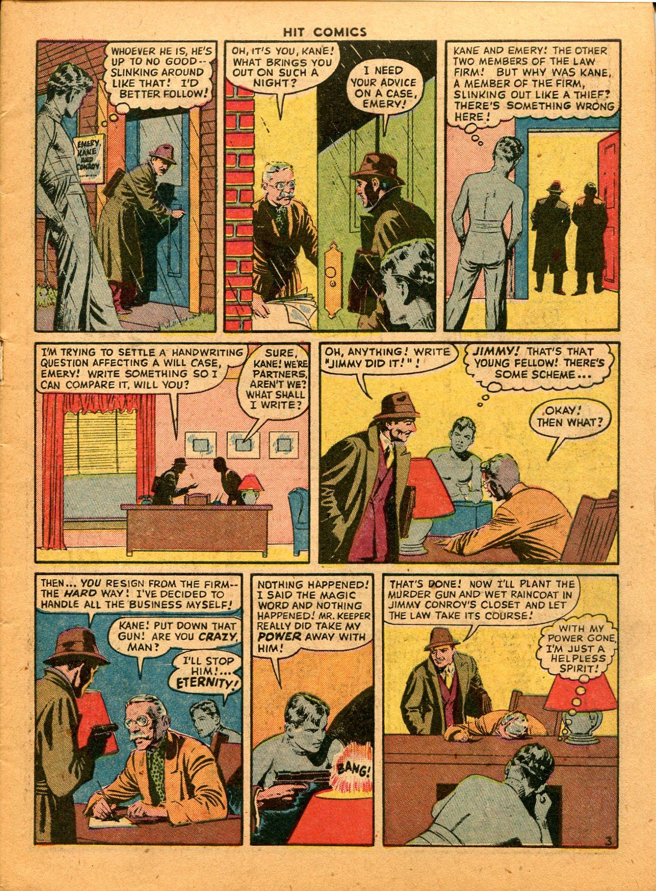 Read online Hit Comics comic -  Issue #35 - 5