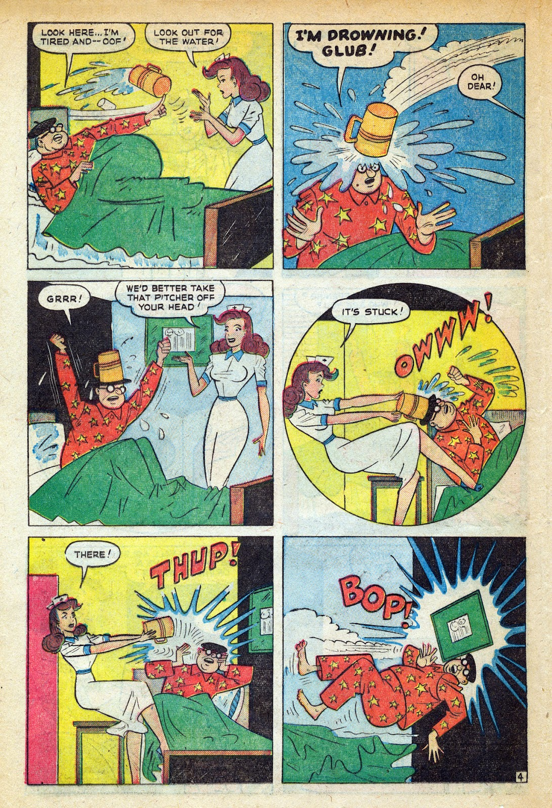 Read online Nellie The Nurse (1945) comic -  Issue #20 - 30