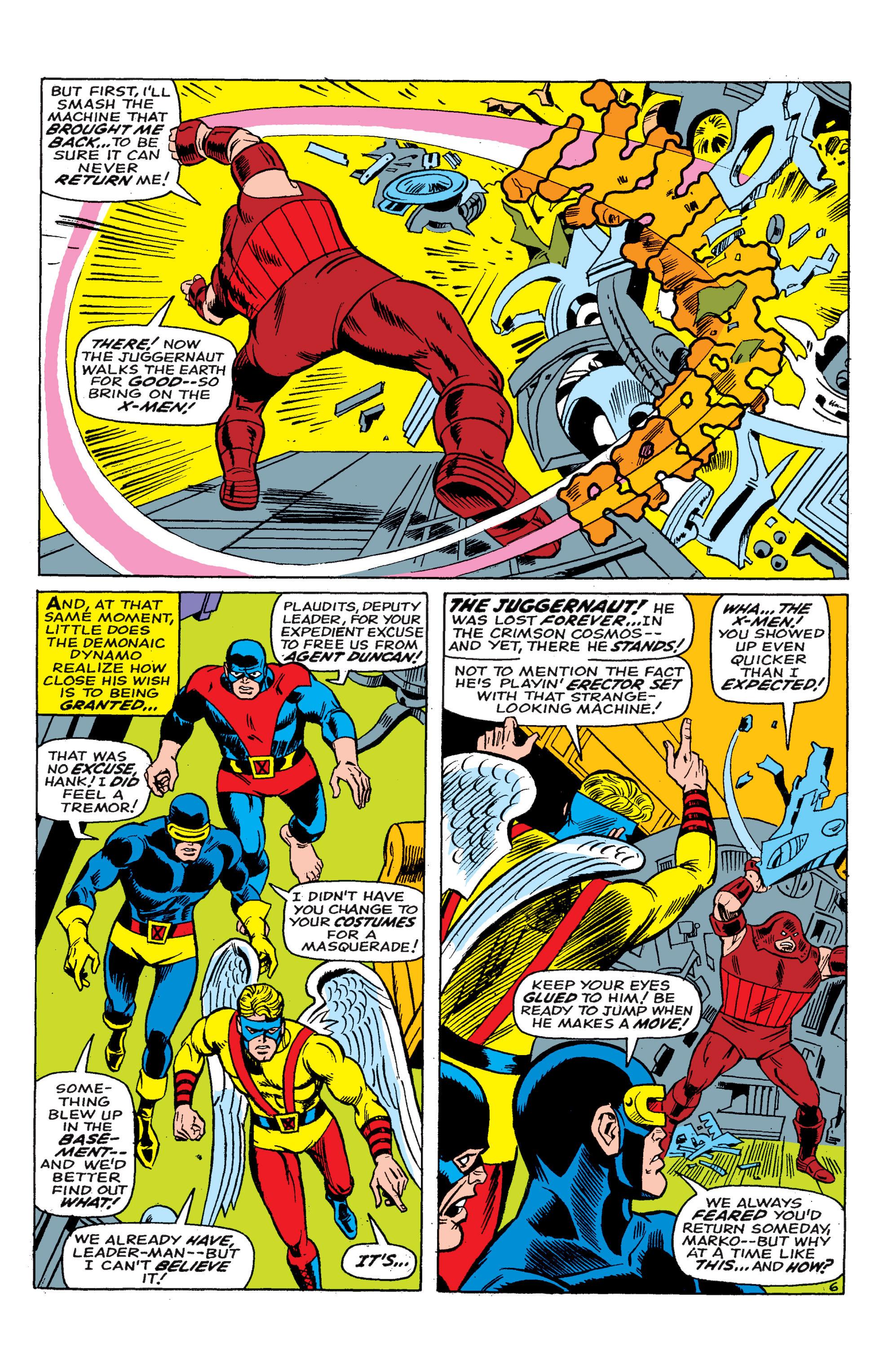 Uncanny X-Men (1963) 46 Page 6