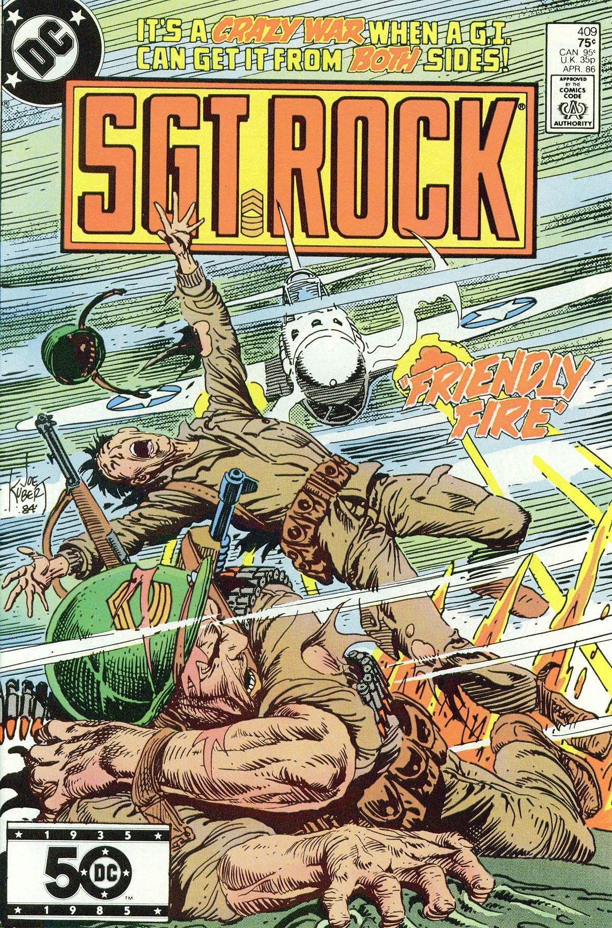 Read online Sgt. Rock comic -  Issue #409 - 1