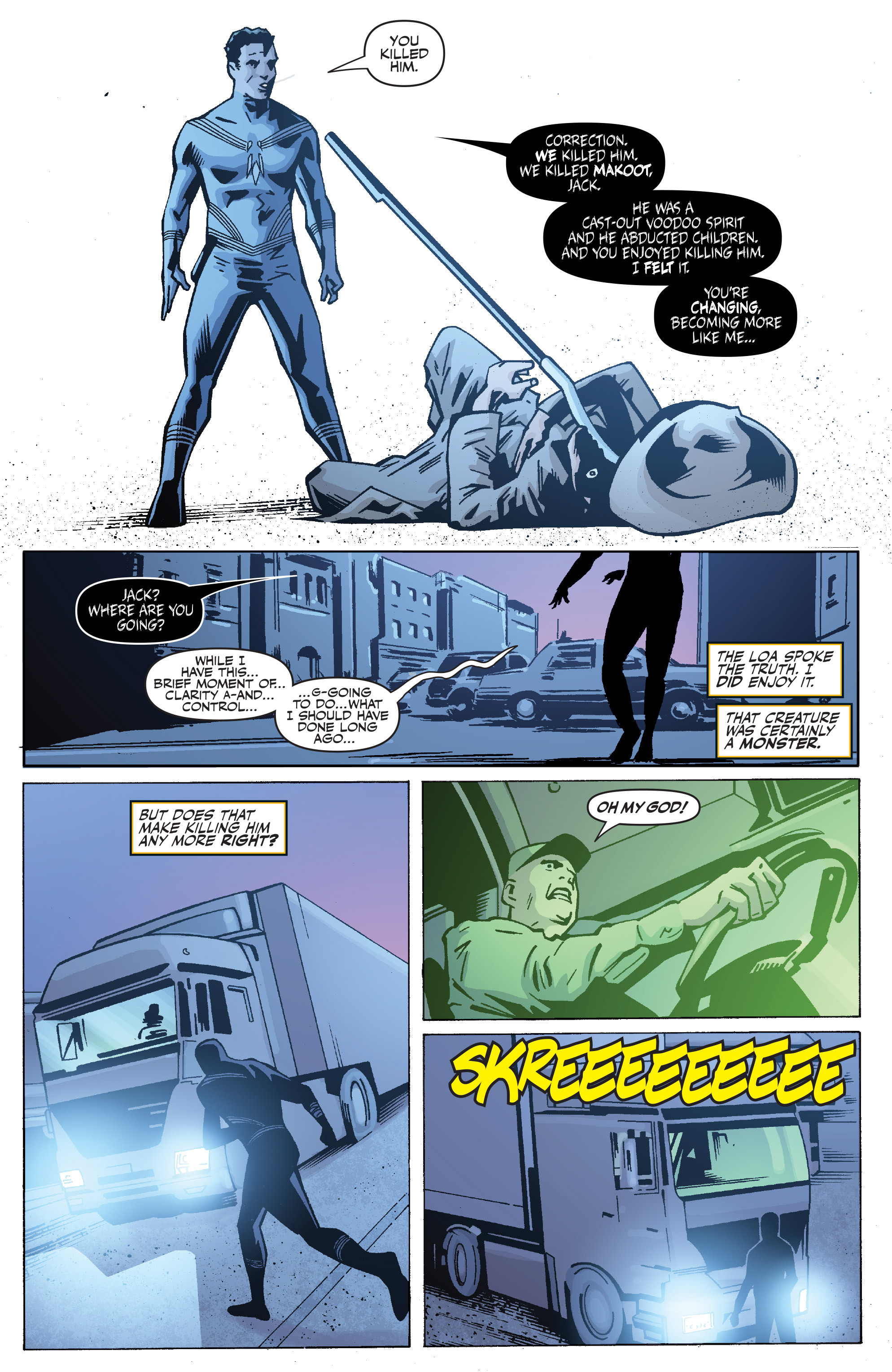 Read online Shadowman: End Times comic -  Issue #1 - 20