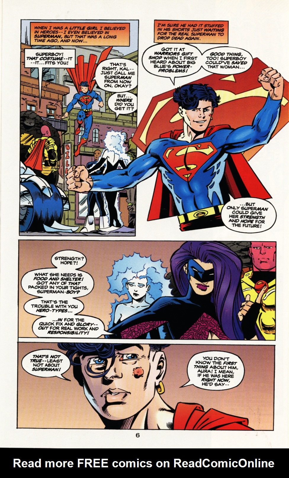 Read online Superboy & The Ravers comic -  Issue #9 - 7