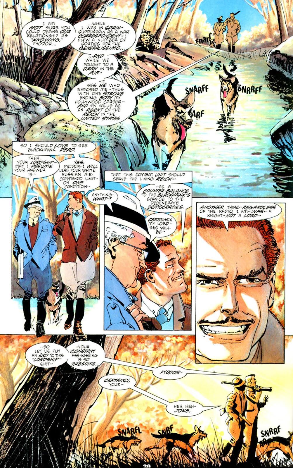 Blackhawk (1988) issue 1 - Page 22