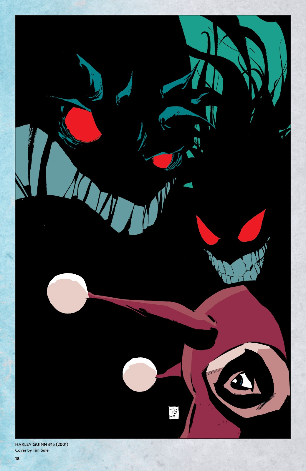 Read online Harley Quinn: A Rogue's Gallery―The Deluxe Cover Art Collection comic -  Issue # TPB (Part 1) - 17