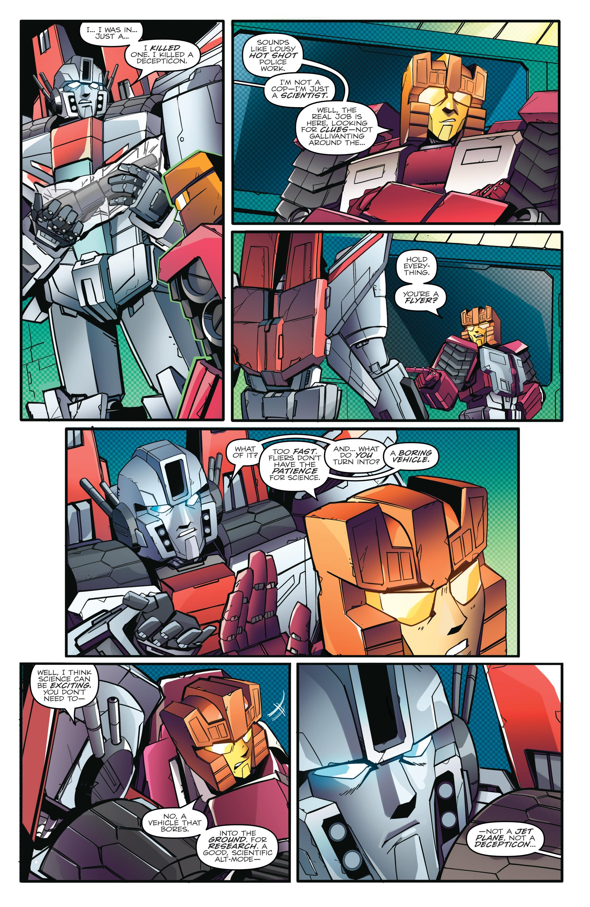 Read online Optimus Prime comic -  Issue #7 - 10