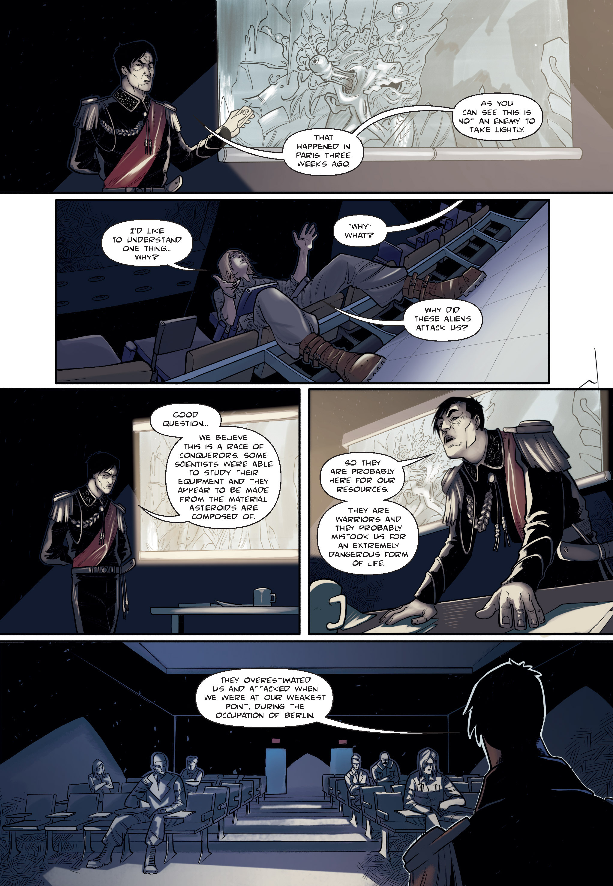 Read online The Shadow of a Terrible Thing comic -  Issue # TPB - 37