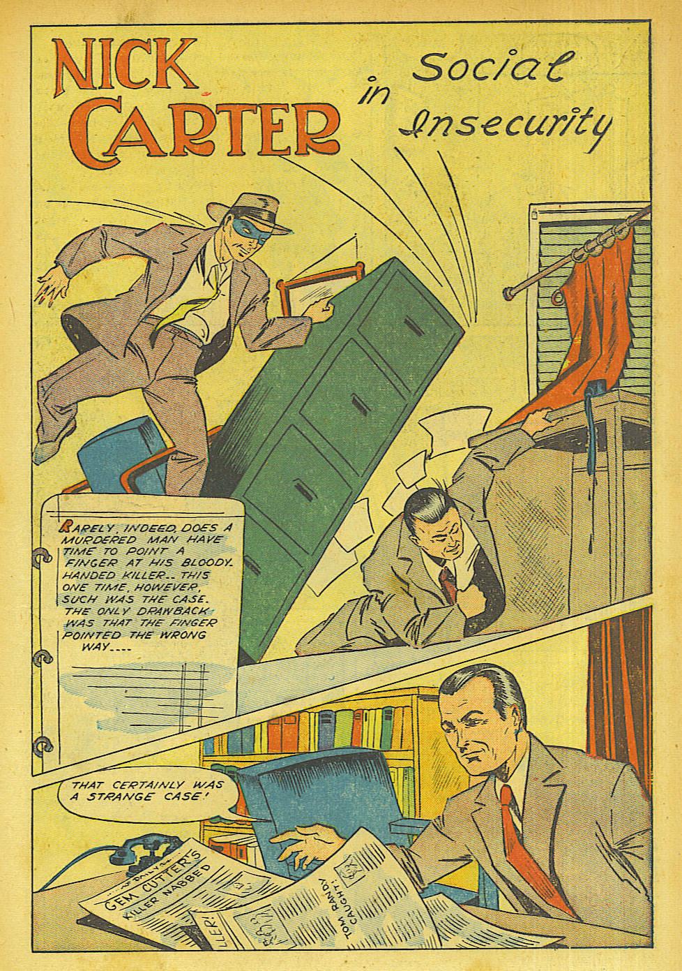Read online Shadow Comics comic -  Issue #63 - 13