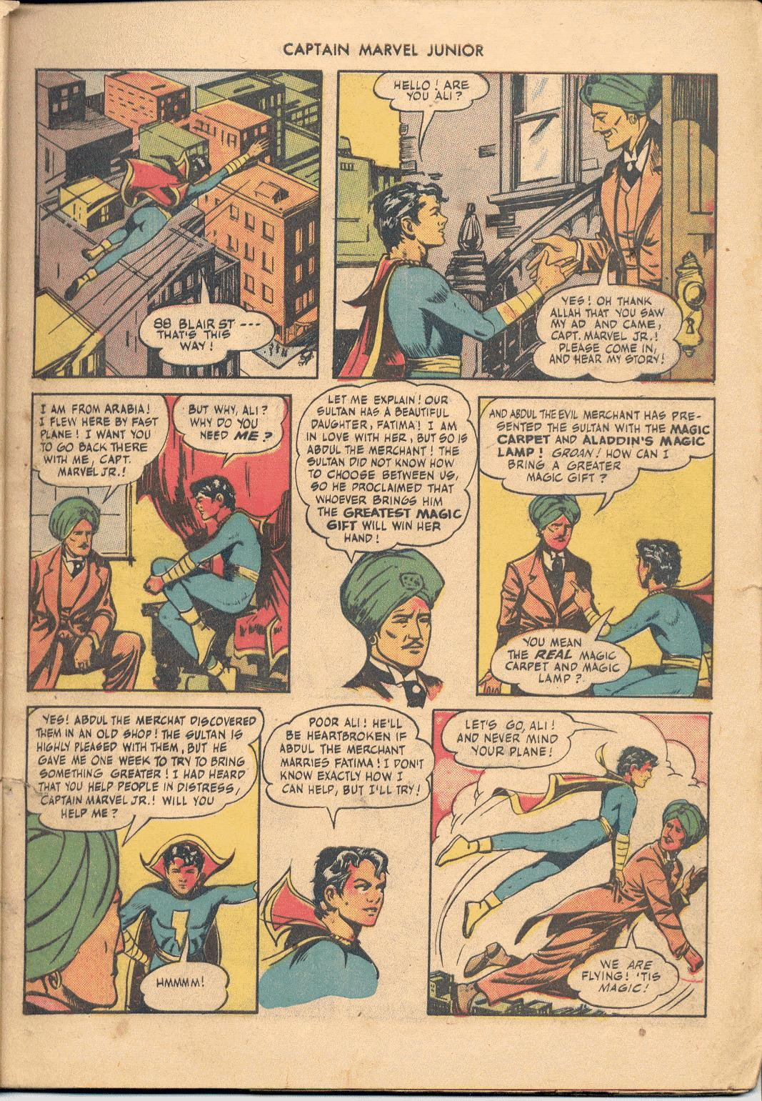 Captain Marvel, Jr. issue 38 - Page 4