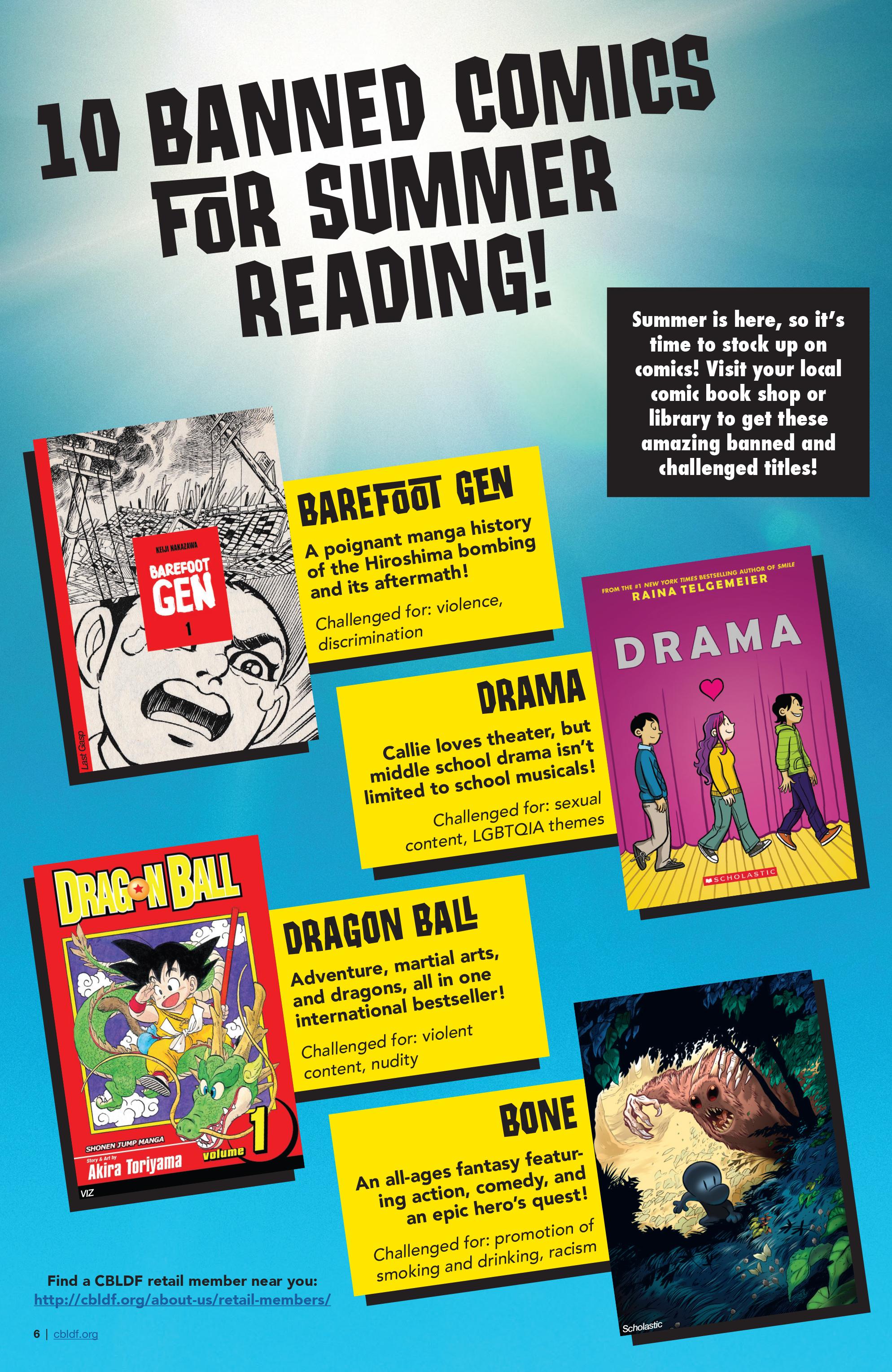 Read online CBLDF Defender Vol. 2 comic -  Issue #2 - 6