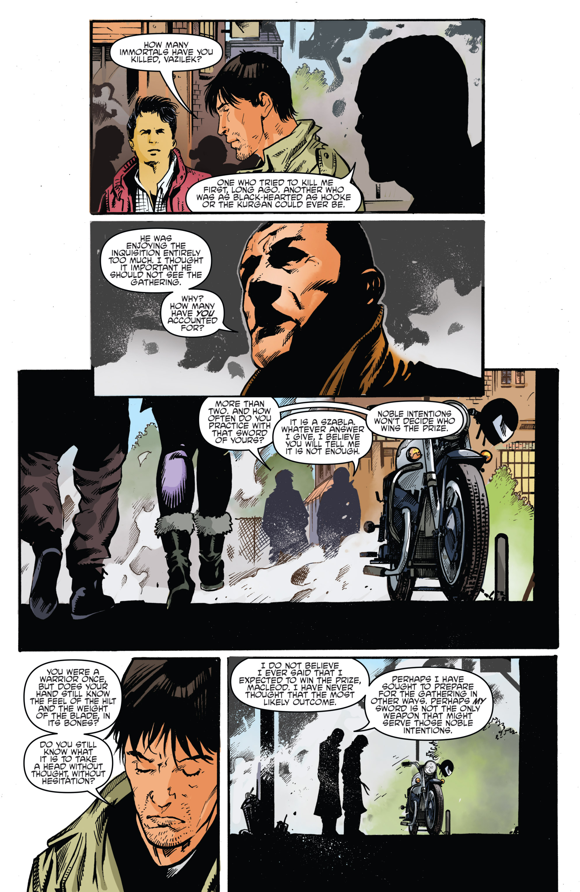 Read online Highlander: The American Dream comic -  Issue #4 - 17