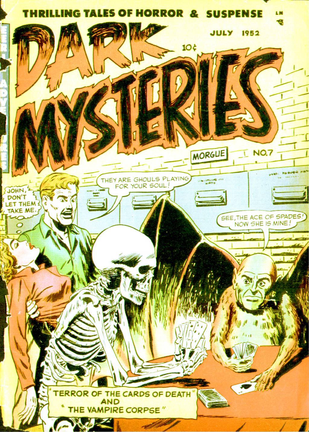 Dark Mysteries 7 Page 1
