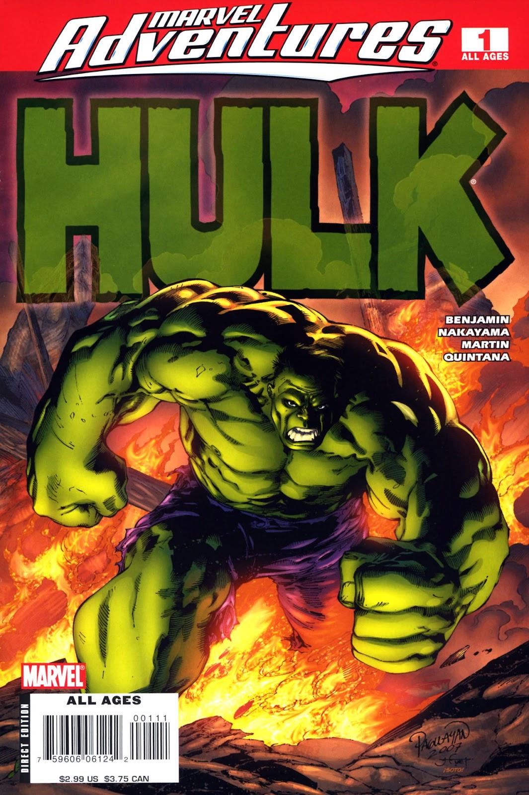 Marvel Adventures Hulk issue 1 - Page 1