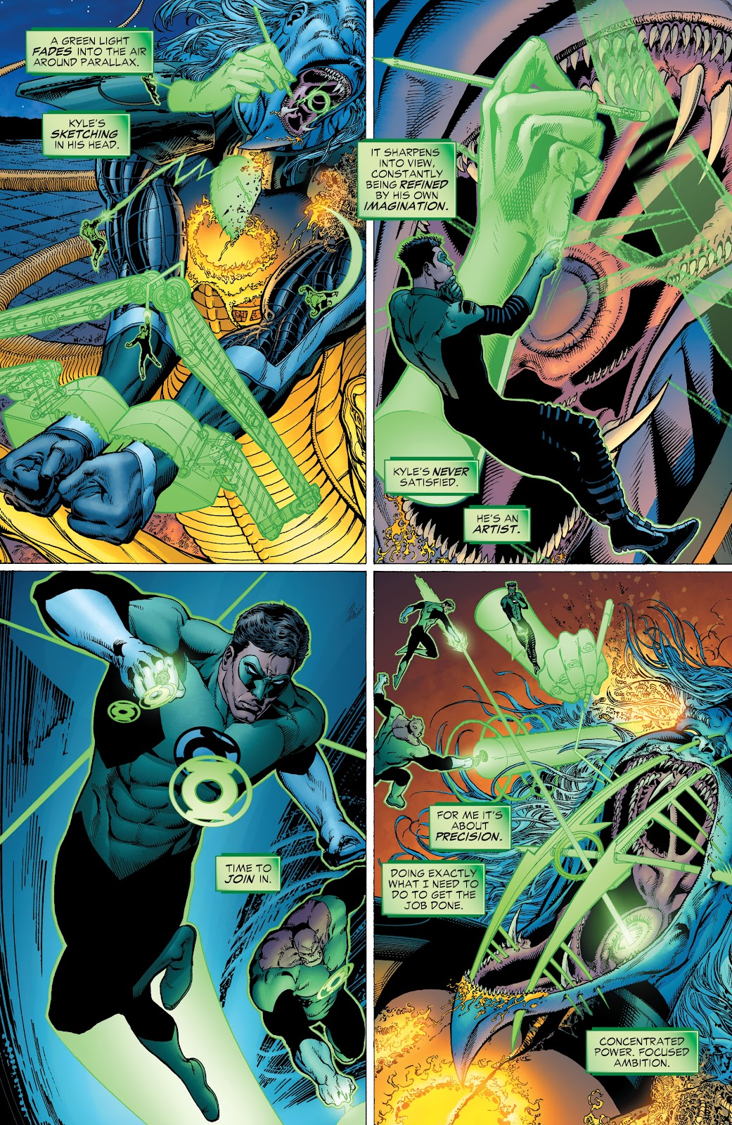 Read online Green Lantern by Geoff Johns comic -  Issue # TPB 1 (Part 2) - 40