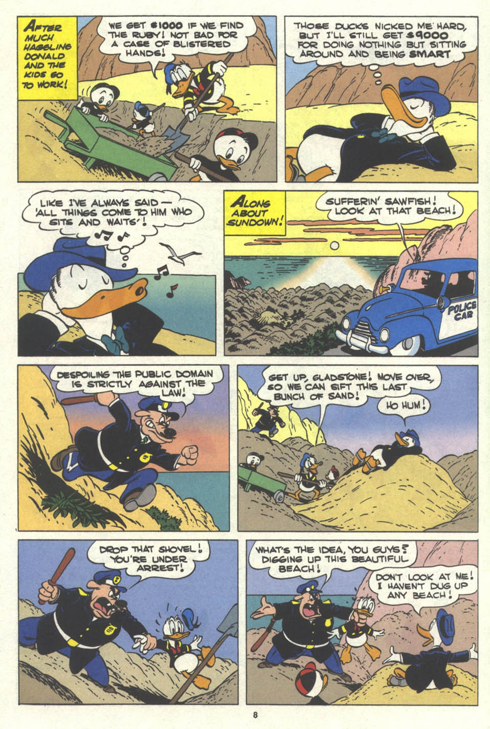 Walt Disney's Comics and Stories issue 576 - Page 9