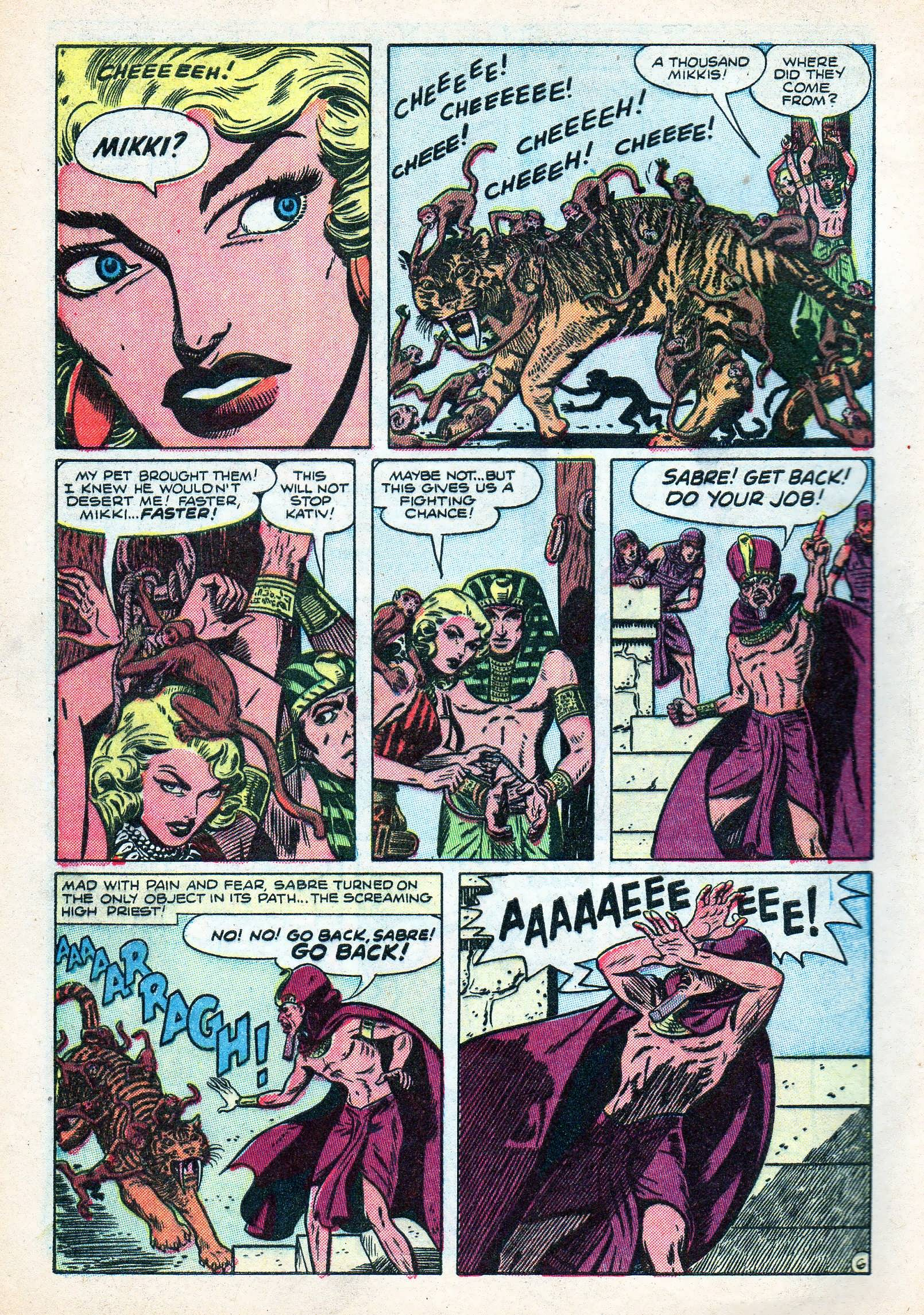 Read online Lorna, The Jungle Queen comic -  Issue #3 - 8