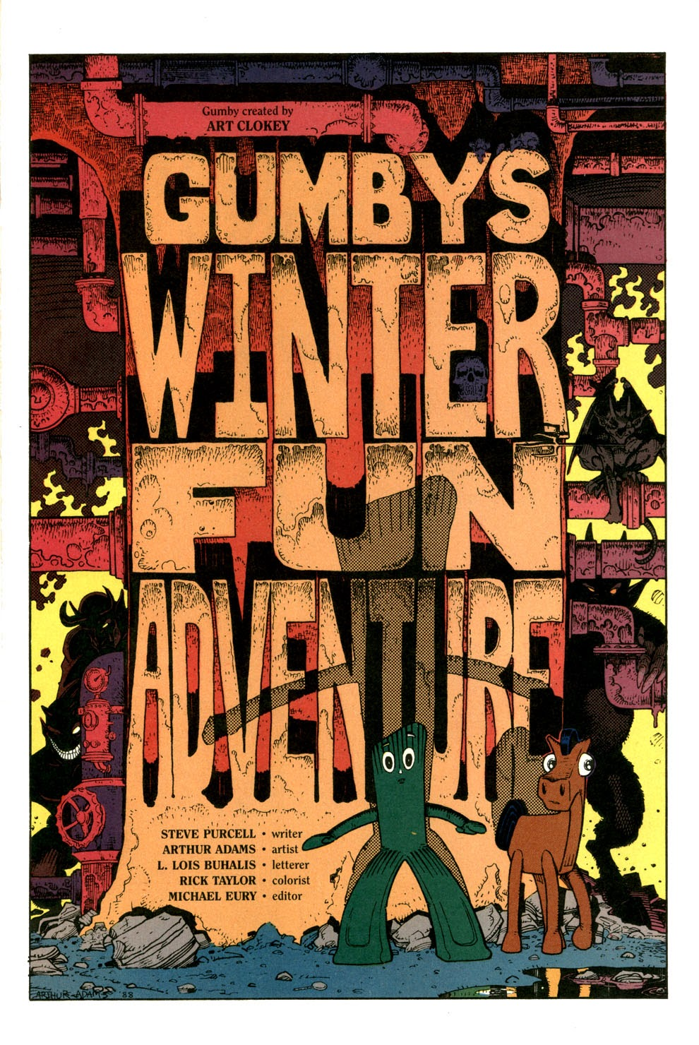 Gumby's Winter Fun Special issue Full - Page 3
