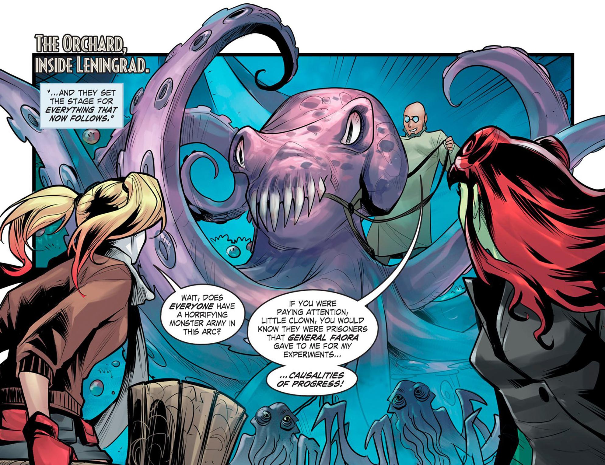 Read online DC Comics: Bombshells comic -  Issue #95 - 12