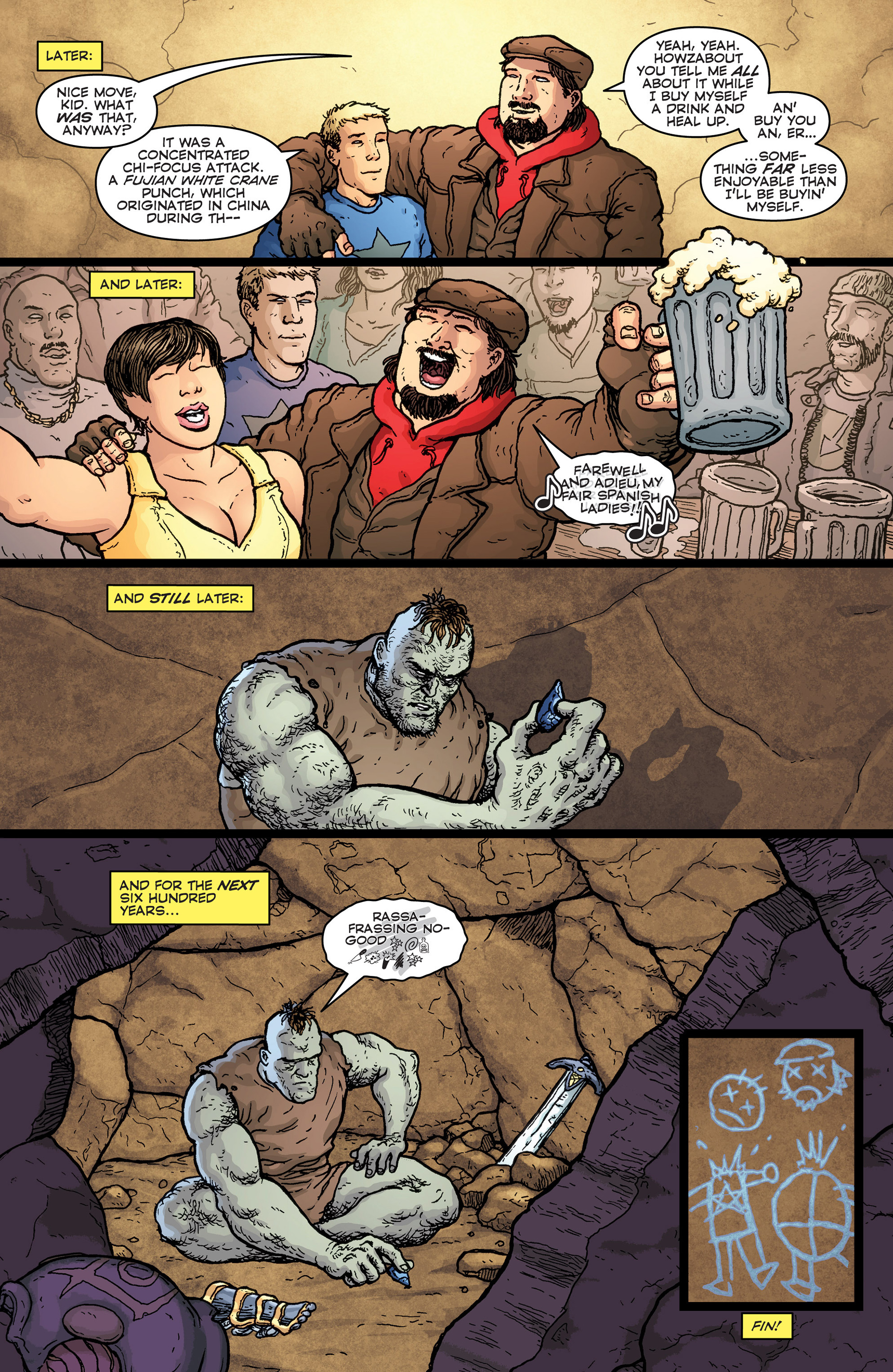 Read online Archer and Armstrong comic -  Issue #25 - 24