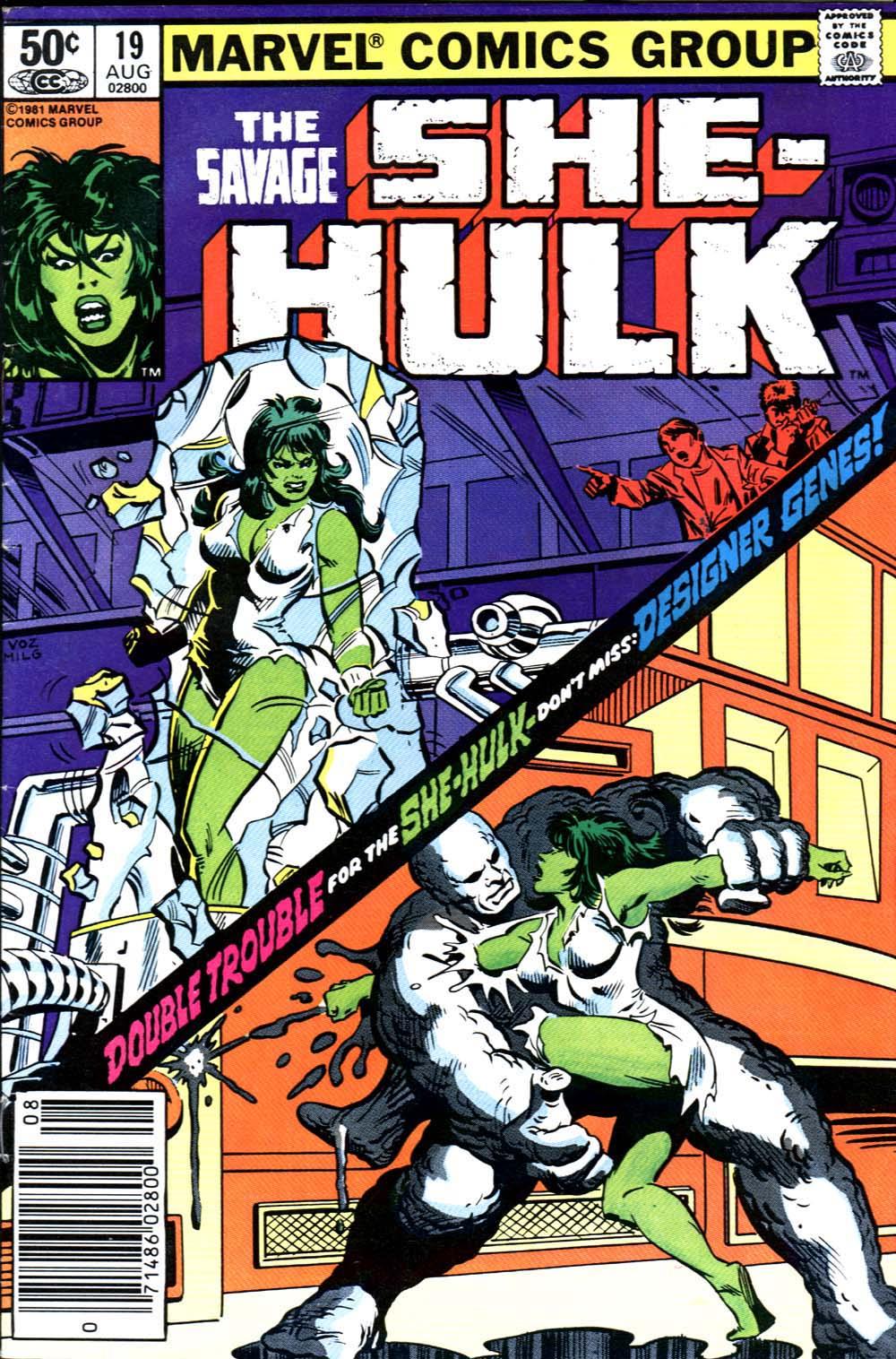 The Savage She-Hulk 19 Page 1