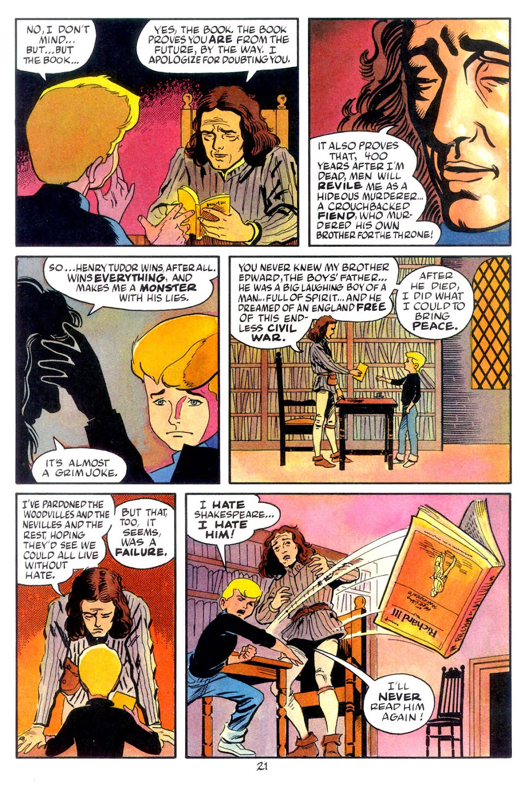 Jonny Quest (1986) issue 10 - Page 23
