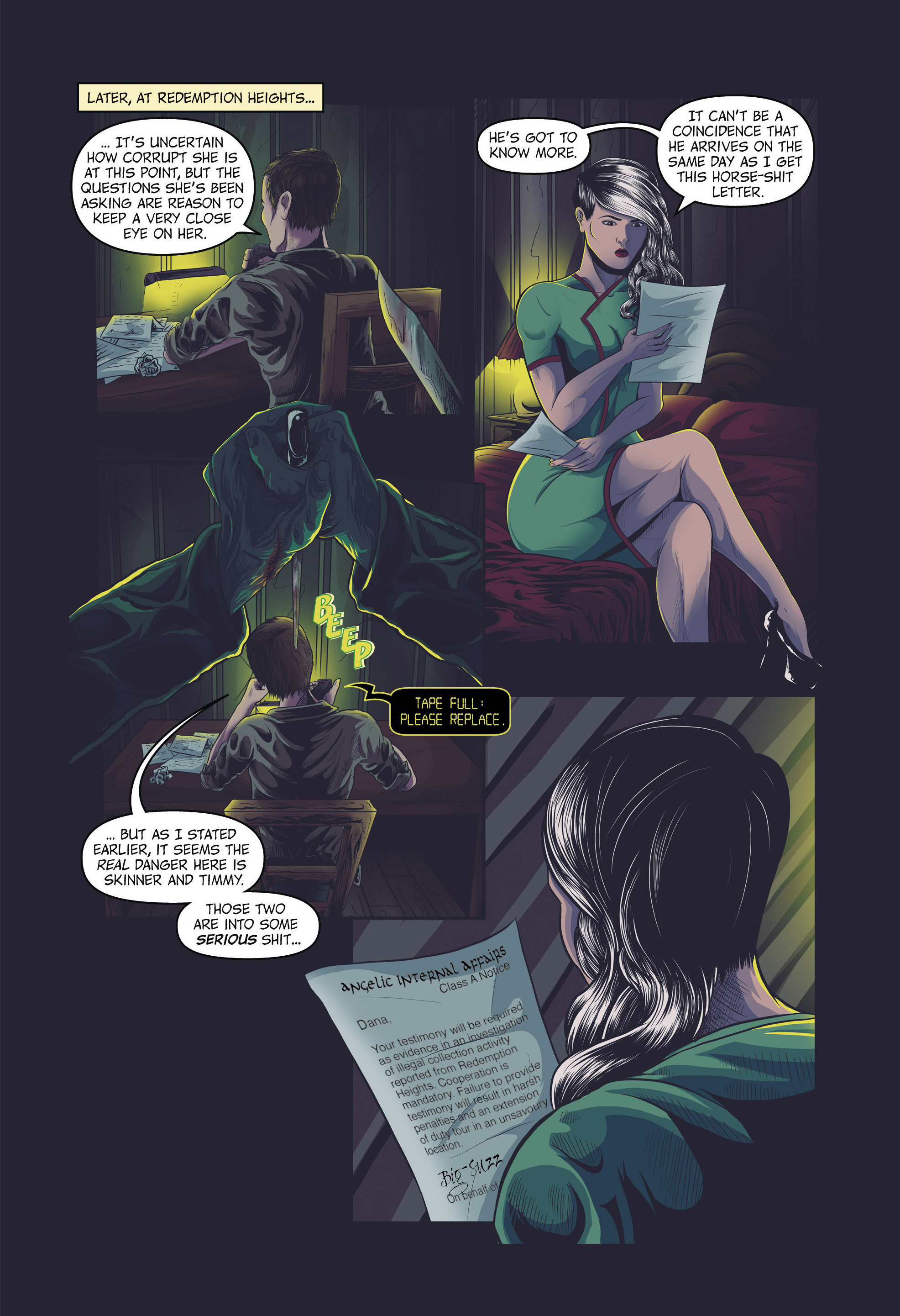 Read online Redemption Heights comic -  Issue # Full - 58