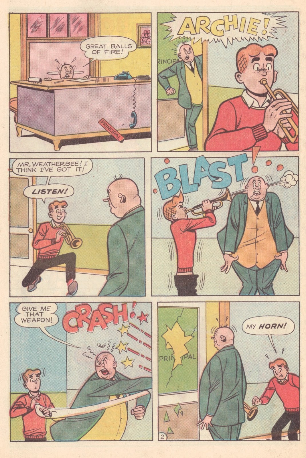 Read online Archie (1960) comic -  Issue #163 - 30
